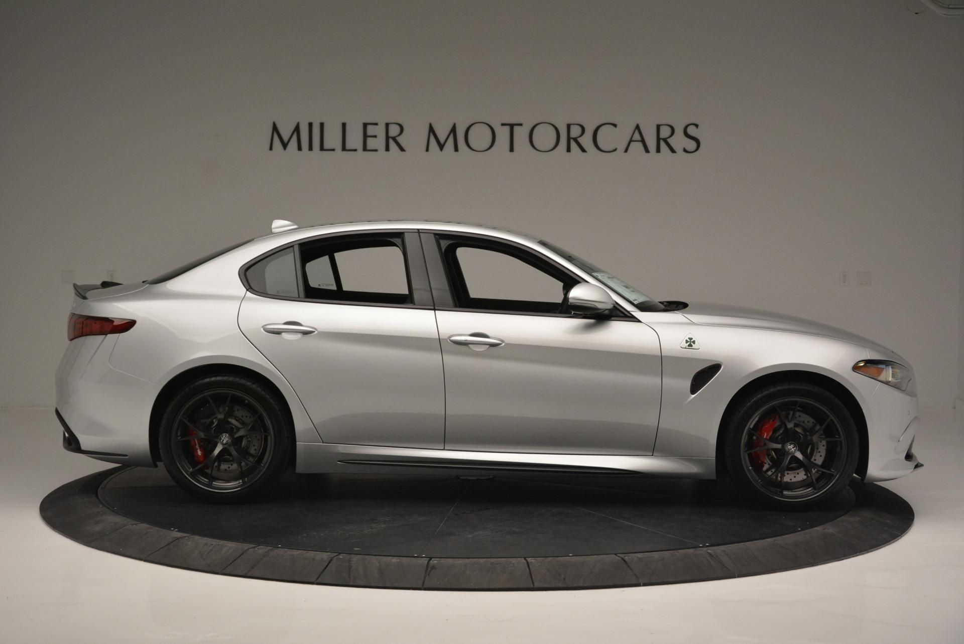 New 2018 Alfa Romeo Giulia Quadrifoglio For Sale In Greenwich, CT 2222_p9