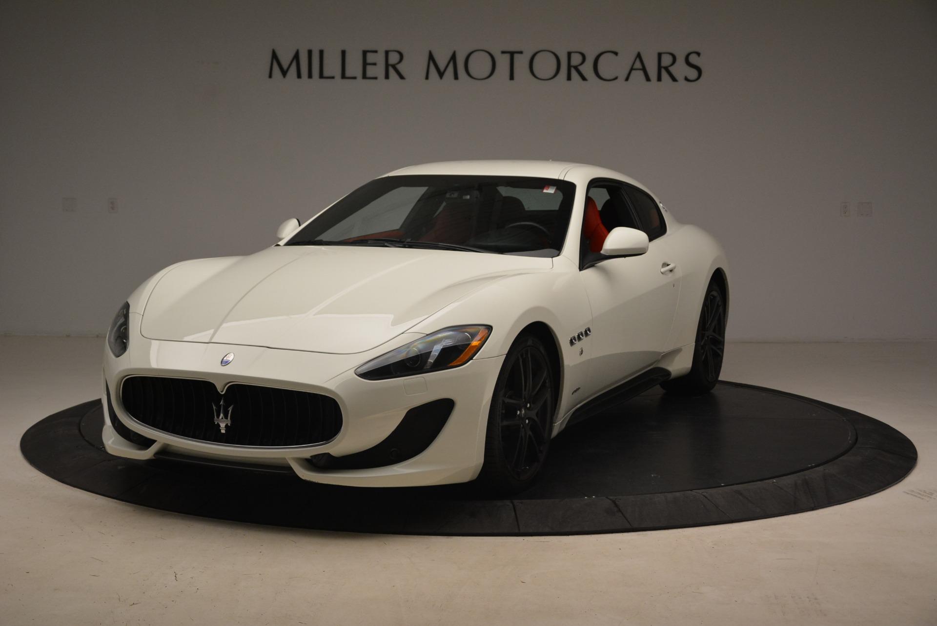 Used 2015 Maserati GranTurismo Sport For Sale In Greenwich, CT 2233_main