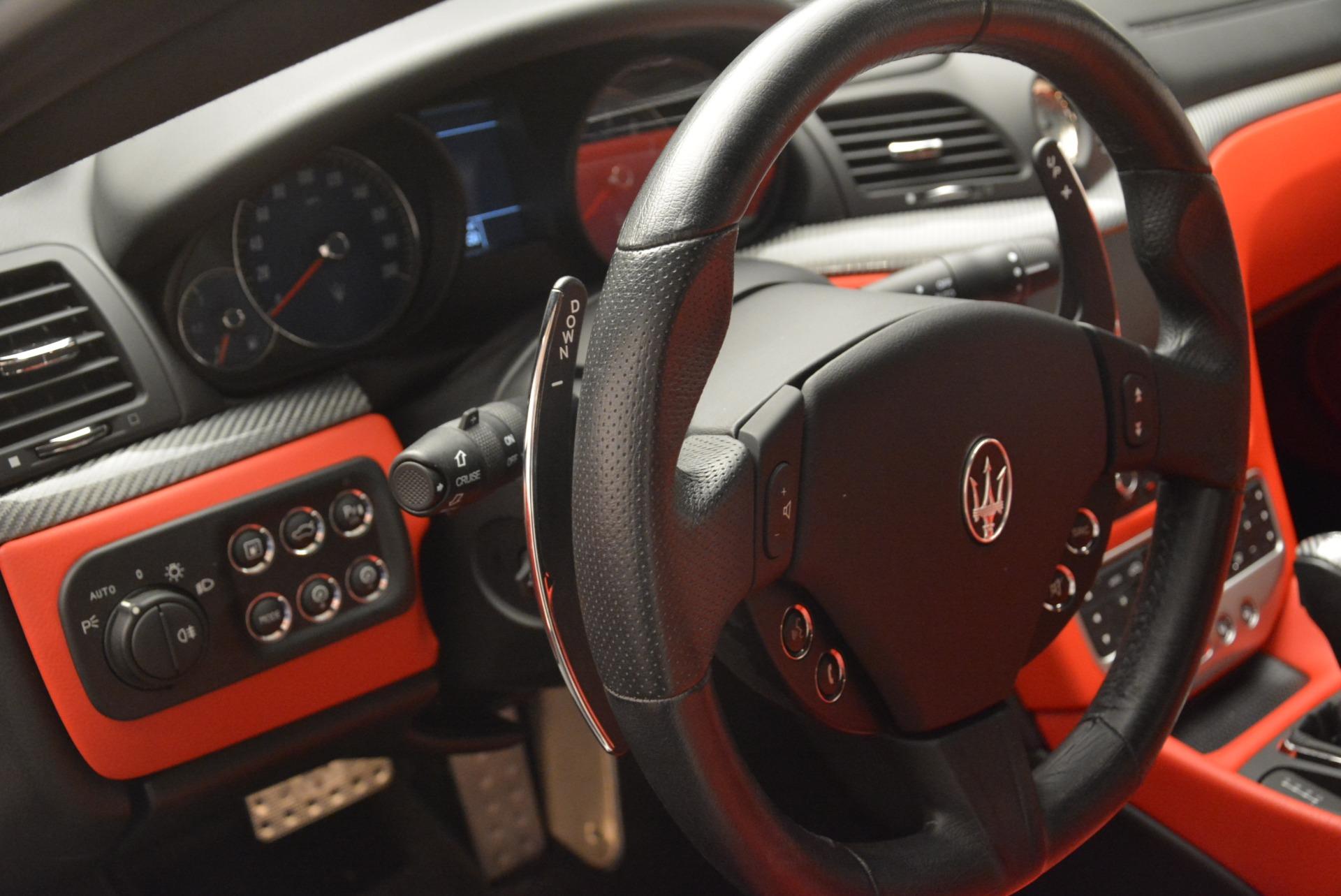 Used 2015 Maserati GranTurismo Sport For Sale In Greenwich, CT 2233_p16