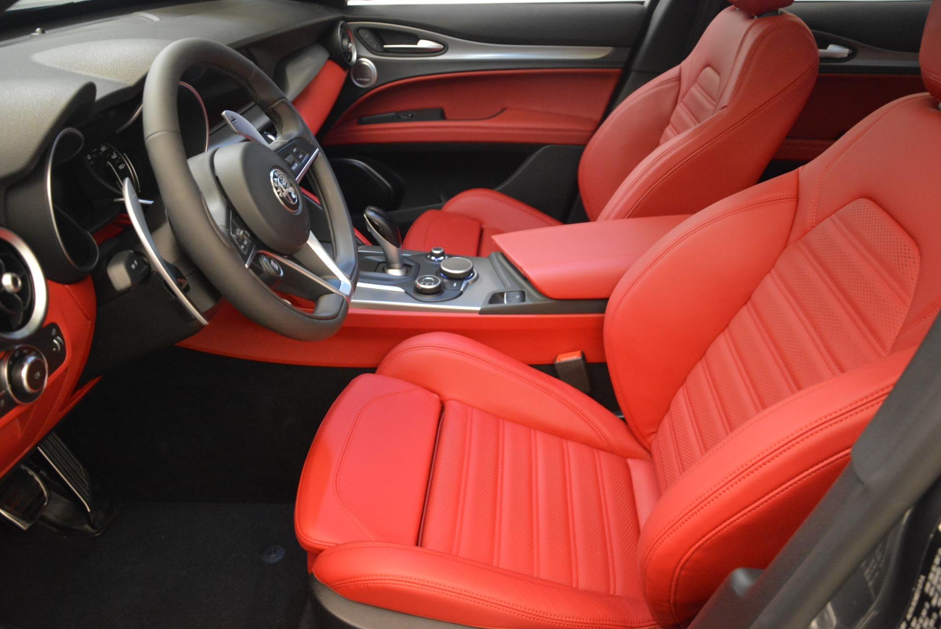 New 2018 Alfa Romeo Stelvio Ti Sport Q4 For Sale In Greenwich, CT 2247_p14