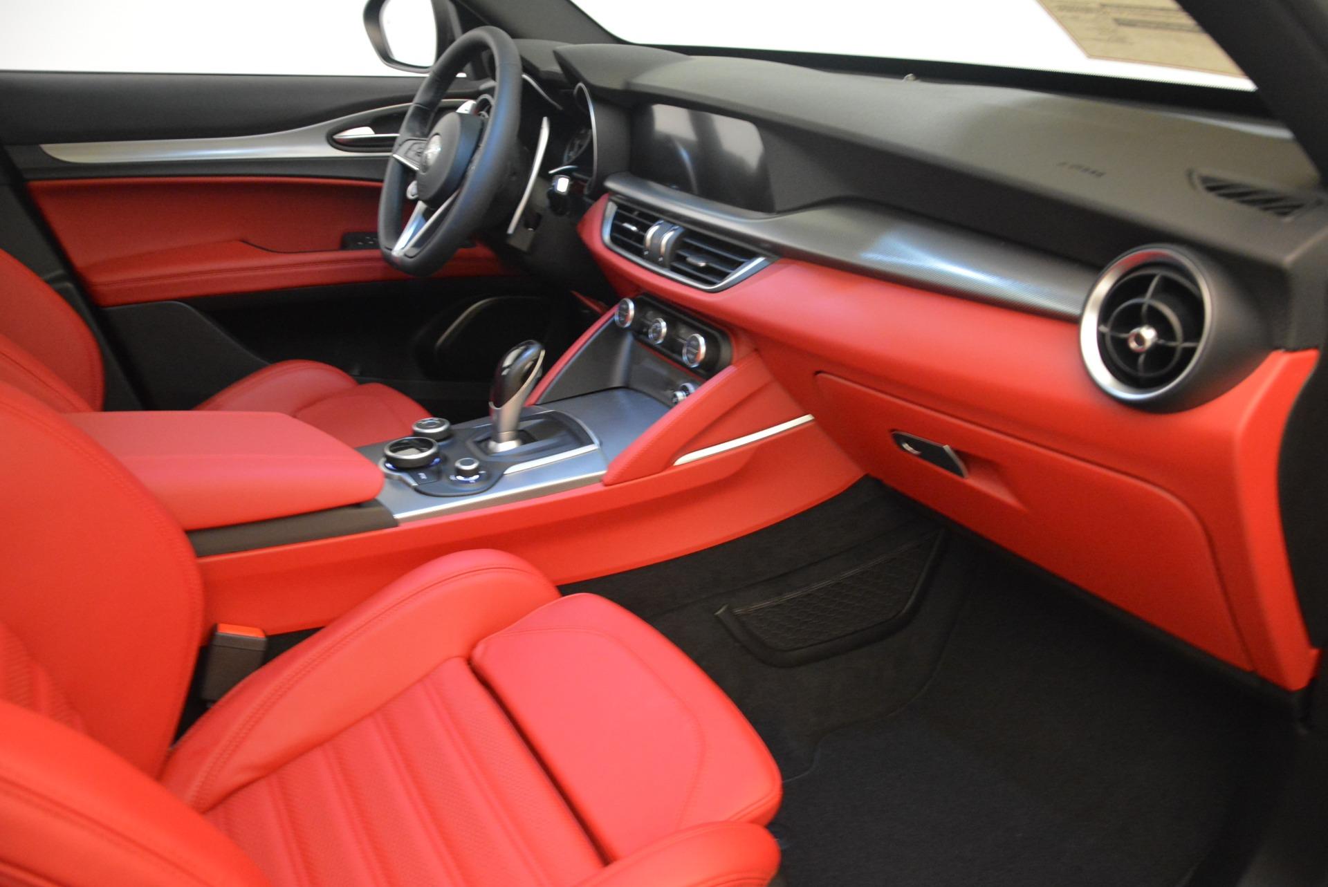 New 2018 Alfa Romeo Stelvio Ti Sport Q4 For Sale In Greenwich, CT 2247_p19