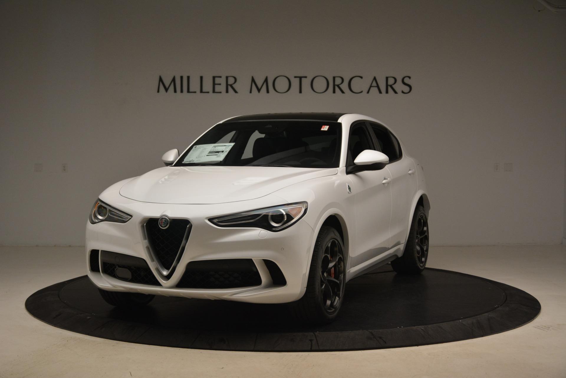 New 2018 Alfa Romeo Stelvio Quadrifoglio For Sale In Greenwich, CT 2254_main