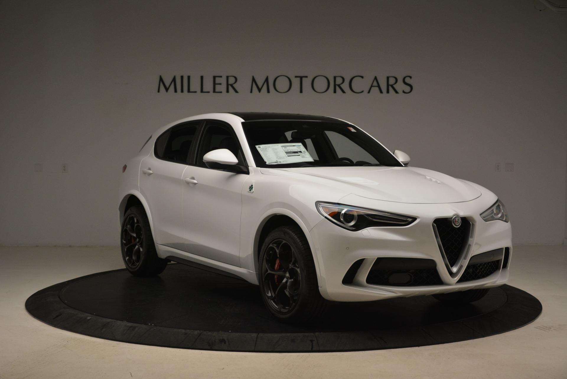 New 2018 Alfa Romeo Stelvio Quadrifoglio For Sale In Greenwich, CT 2254_p12