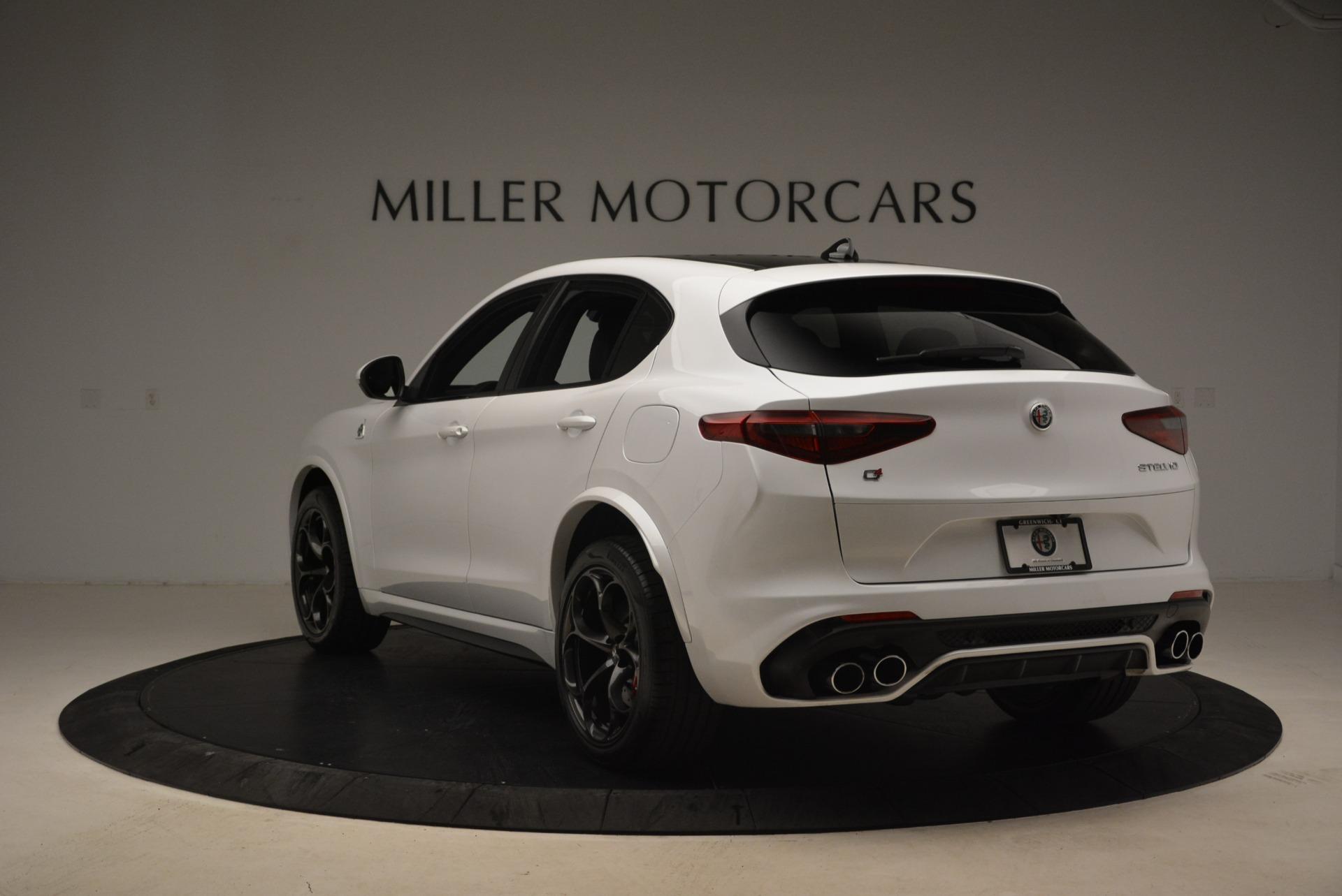 New 2018 Alfa Romeo Stelvio Quadrifoglio For Sale In Greenwich, CT 2254_p5