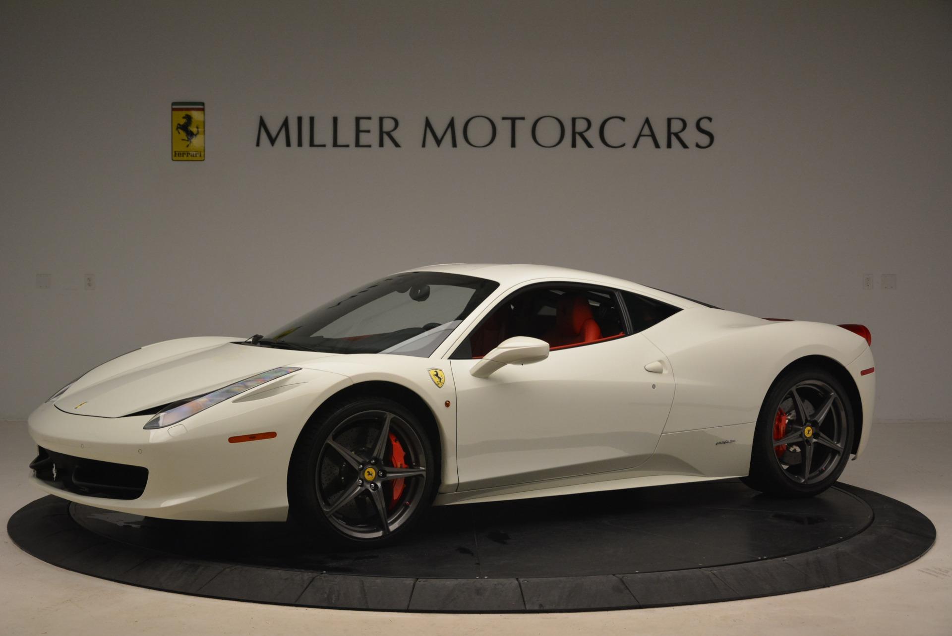 Used 2014 Ferrari 458 Italia  For Sale In Greenwich, CT 2260_p2