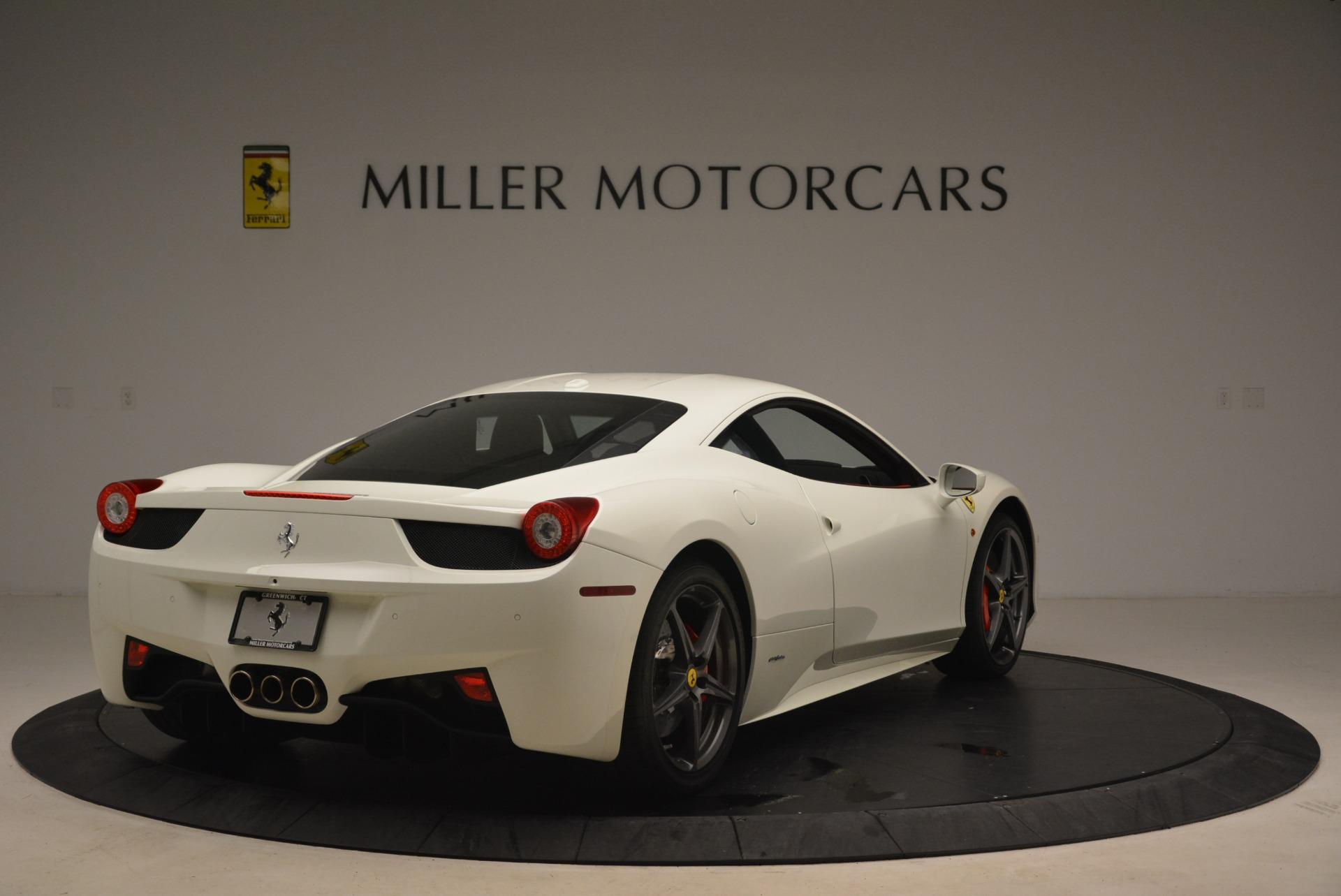 Used 2014 Ferrari 458 Italia  For Sale In Greenwich, CT 2260_p7