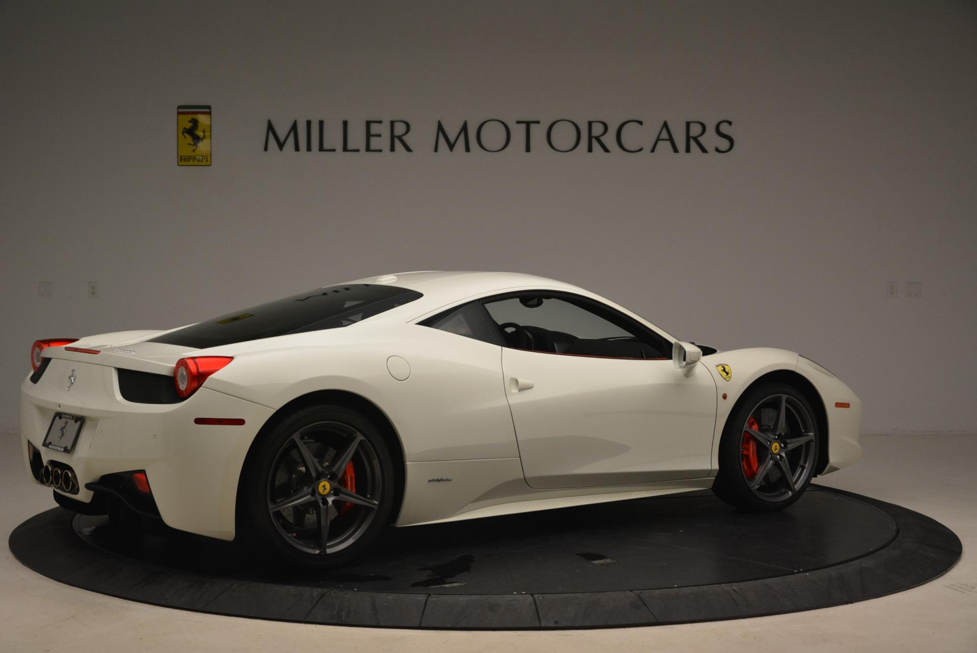 Used 2014 Ferrari 458 Italia  For Sale In Greenwich, CT 2260_p8