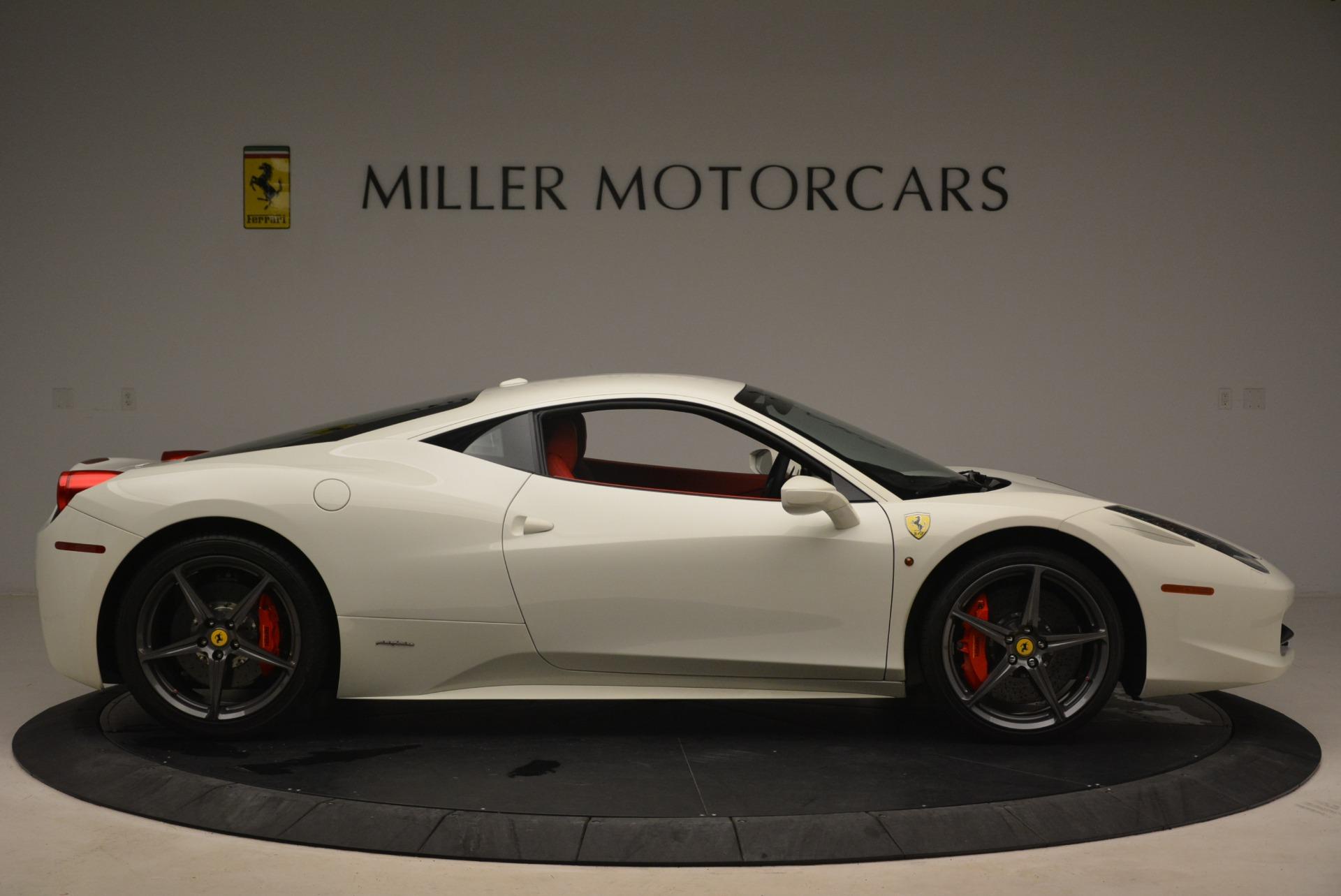 Used 2014 Ferrari 458 Italia  For Sale In Greenwich, CT 2260_p9