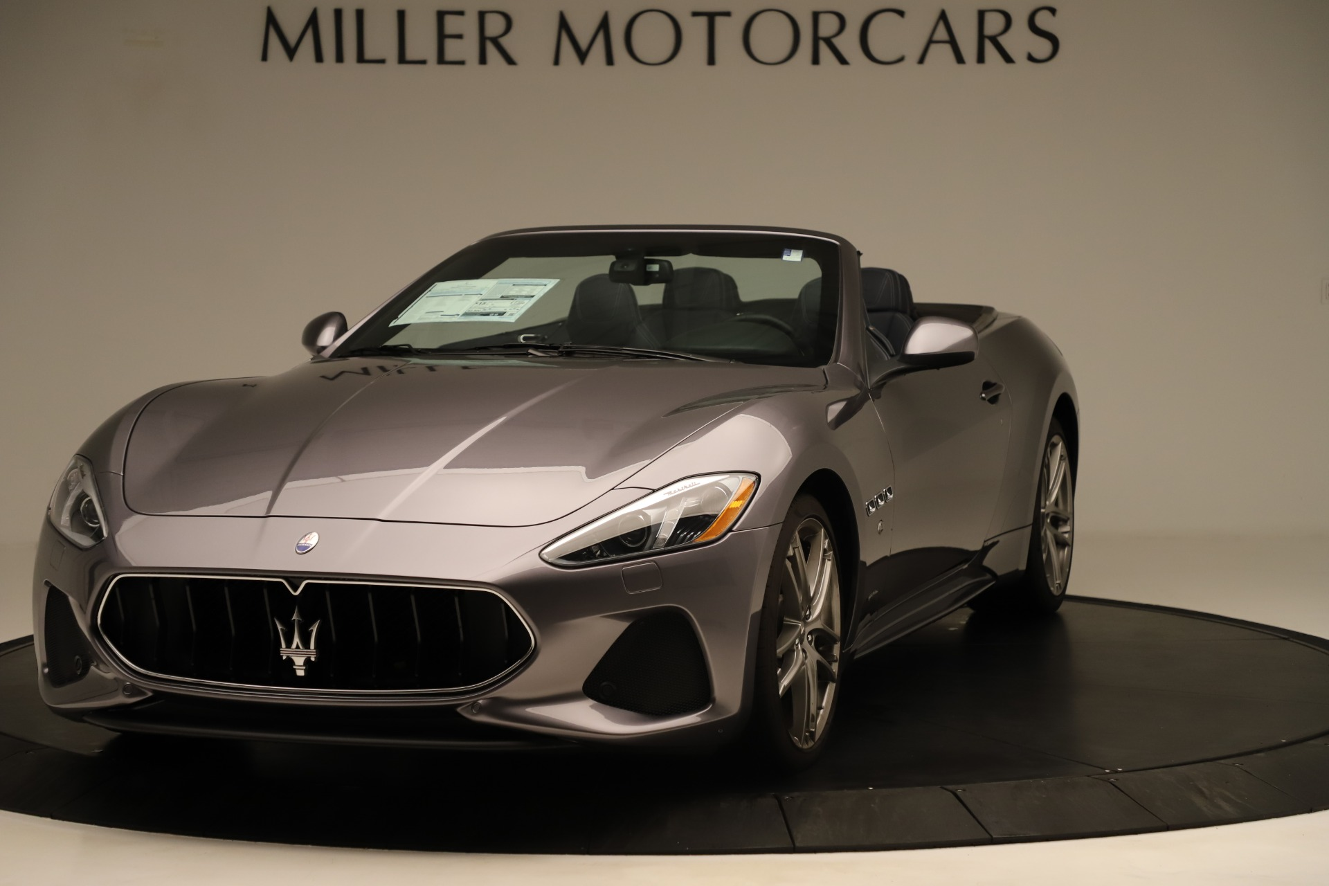 New 2018 Maserati GranTurismo Sport Convertible For Sale In Greenwich, CT