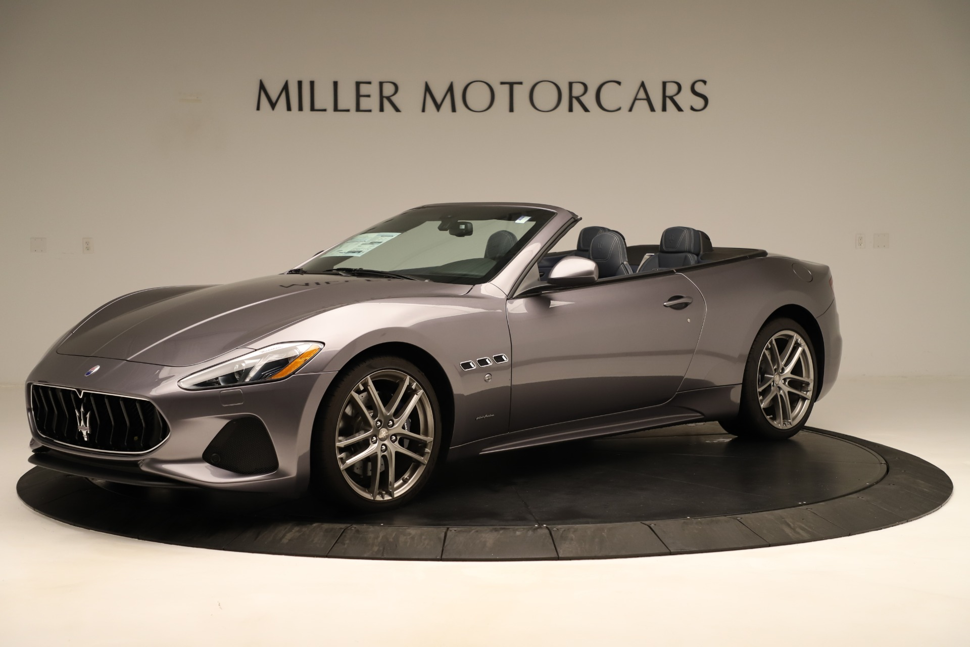 New 2018 Maserati GranTurismo Sport Convertible For Sale In Greenwich, CT 2272_p3