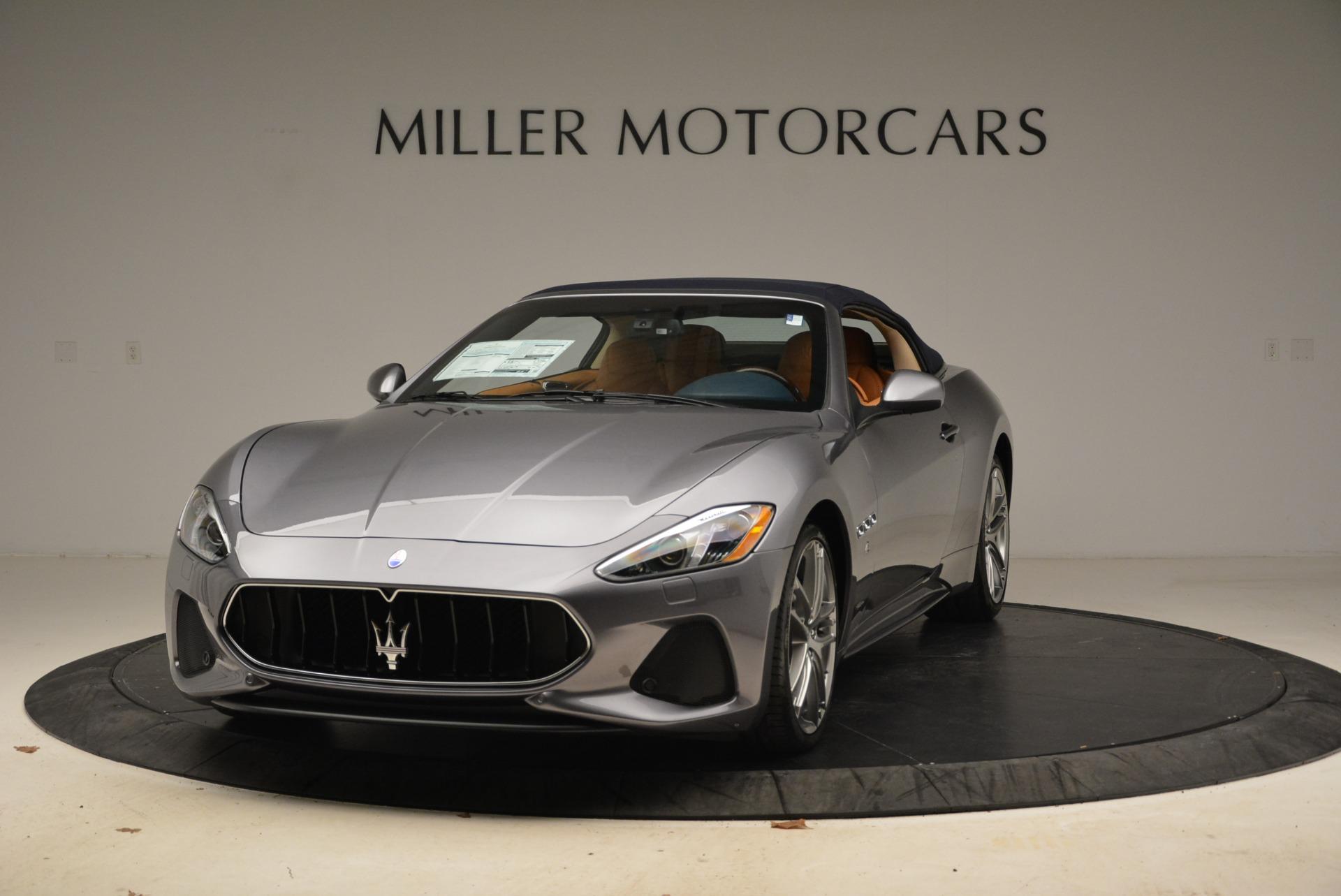 New 2018 Maserati GranTurismo Sport Convertible For Sale In Greenwich, CT 2276_main