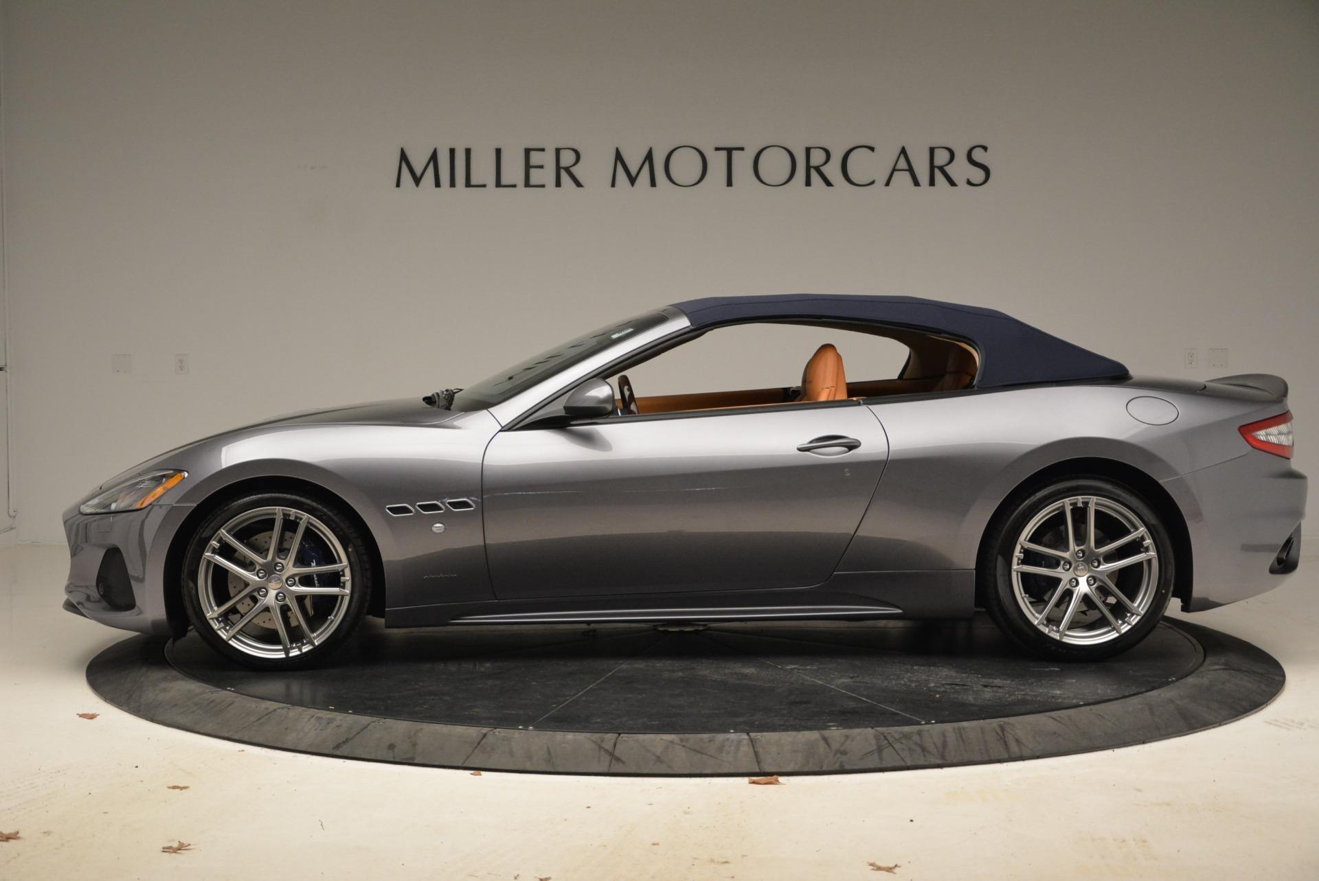 New 2018 Maserati GranTurismo Sport Convertible For Sale In Greenwich, CT 2276_p3