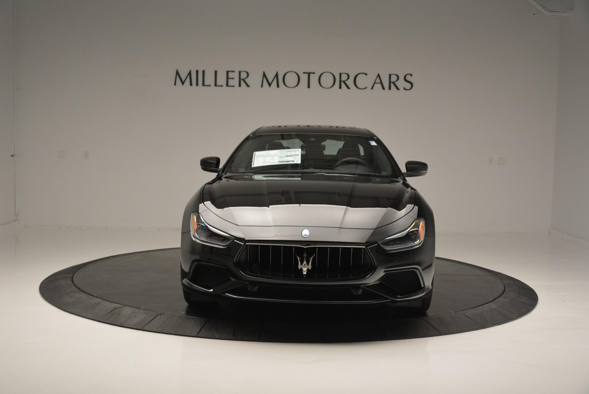 New 2018 Maserati Ghibli SQ4 GranSport Nerissimo For Sale In Greenwich, CT 2278_p12