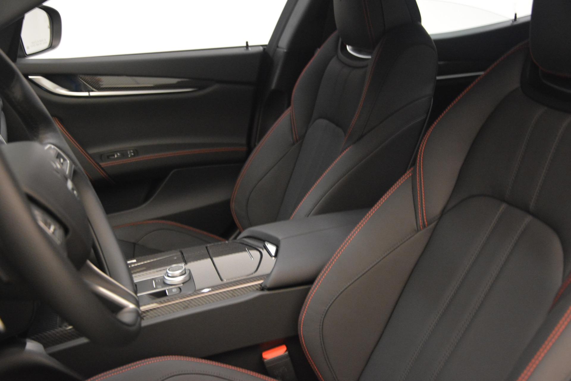 New 2018 Maserati Ghibli SQ4 GranSport Nerissimo For Sale In Greenwich, CT 2278_p15