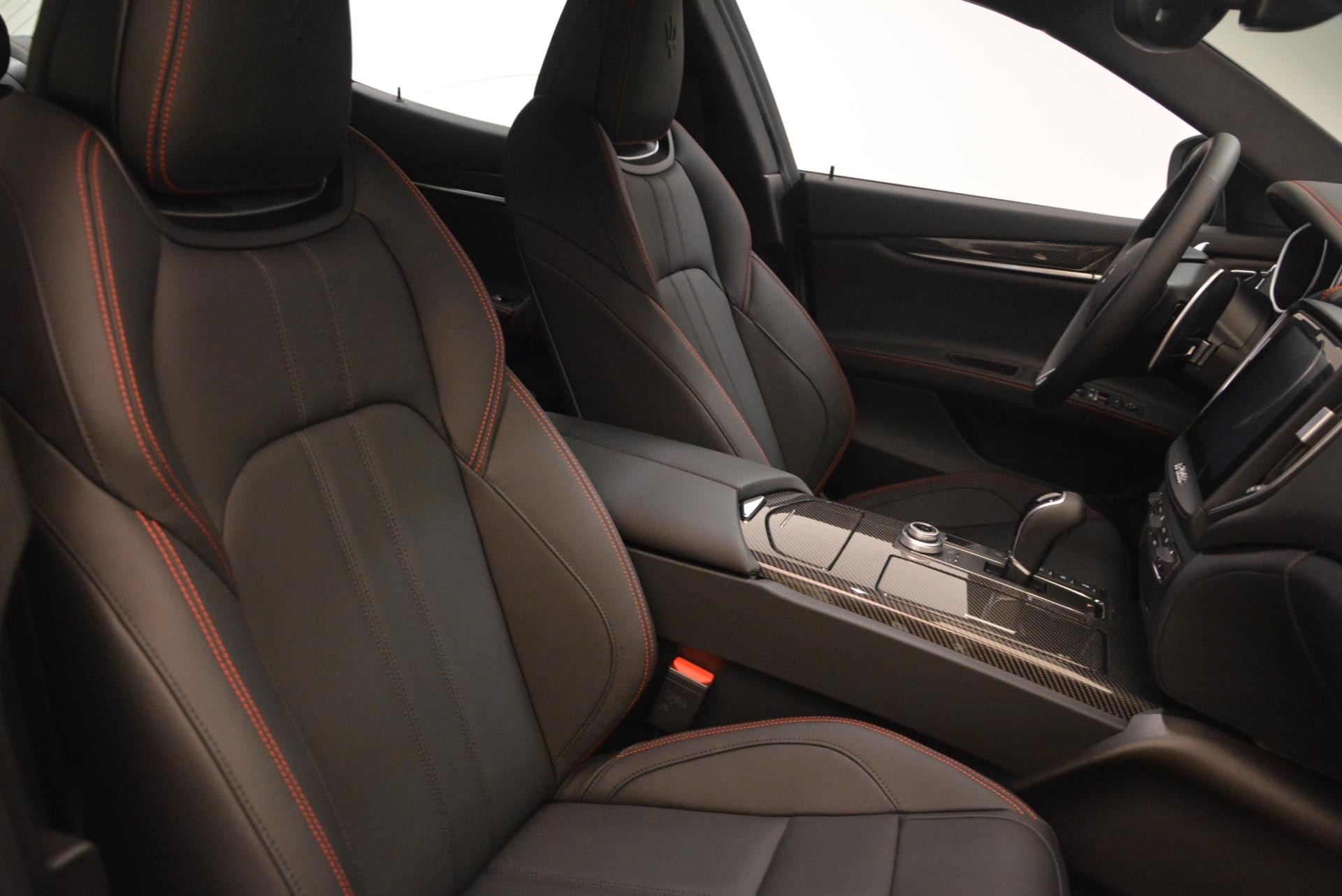 New 2018 Maserati Ghibli SQ4 GranSport Nerissimo For Sale In Greenwich, CT 2278_p18