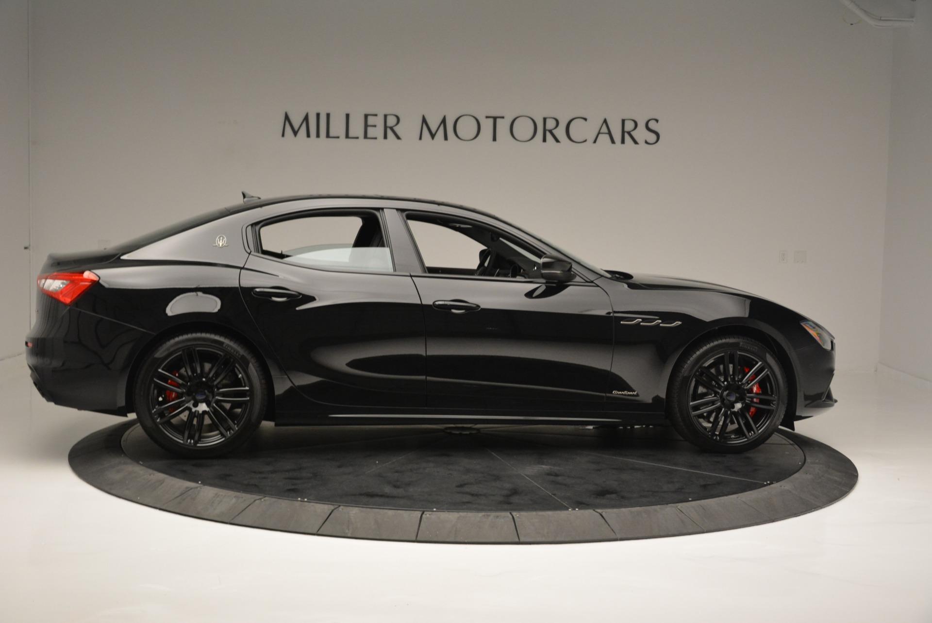 New 2018 Maserati Ghibli SQ4 GranSport Nerissimo For Sale In Greenwich, CT 2278_p9