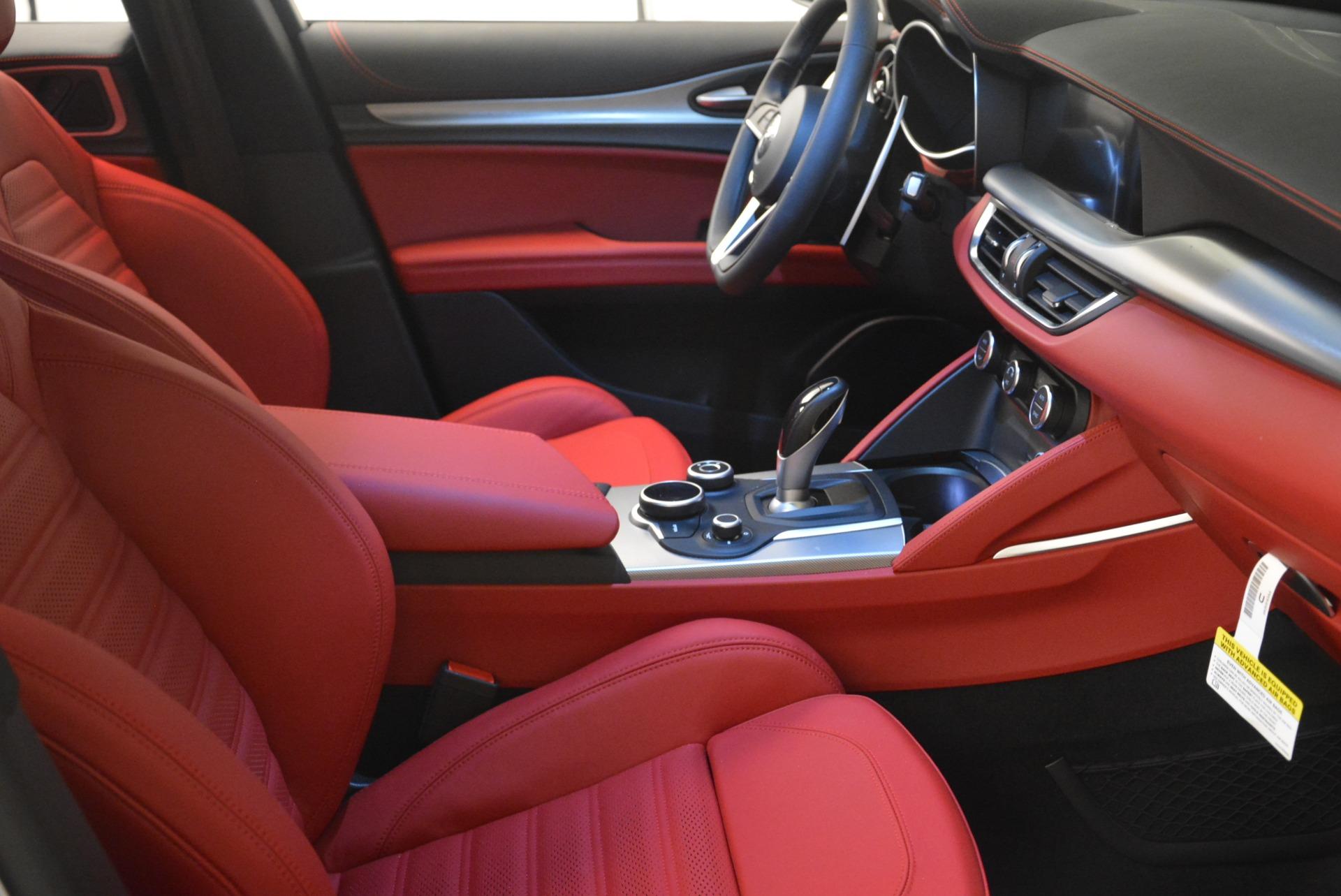 New 2018 Alfa Romeo Stelvio Ti Sport Q4 For Sale In Greenwich, CT 2299_p25