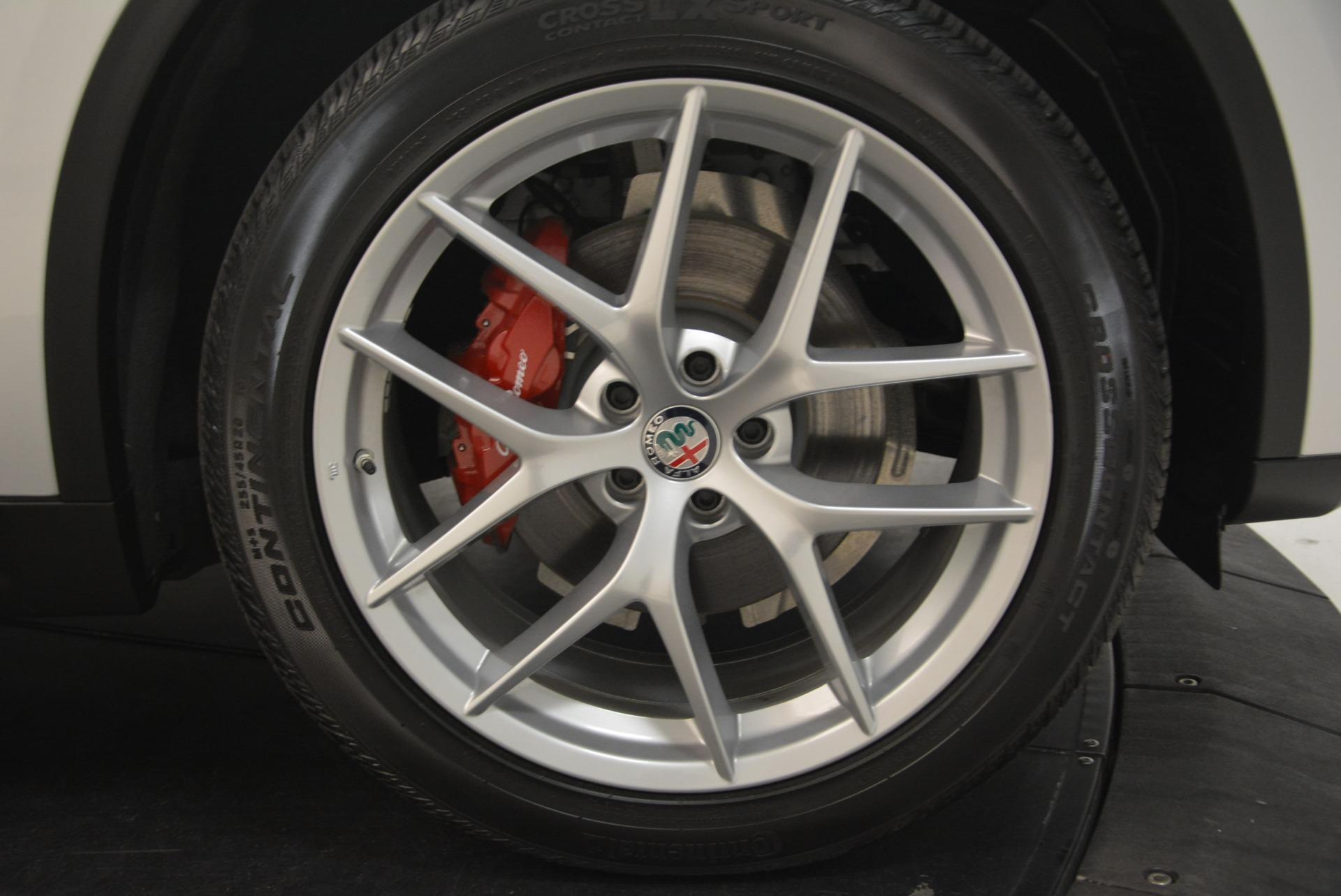 New 2018 Alfa Romeo Stelvio Ti Sport Q4 For Sale In Greenwich, CT 2301_p25
