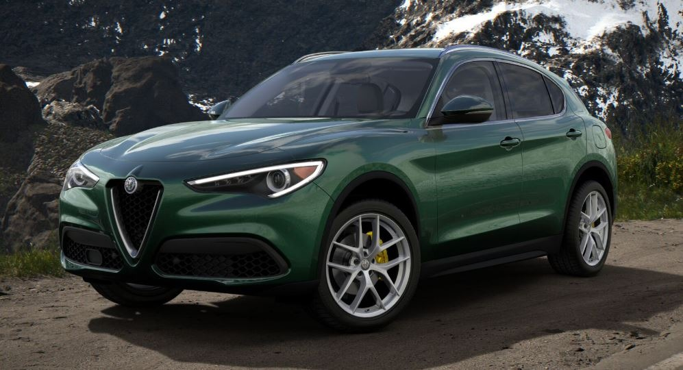 New 2018 Alfa Romeo Stelvio Ti Q4 For Sale In Greenwich, CT 2321_main
