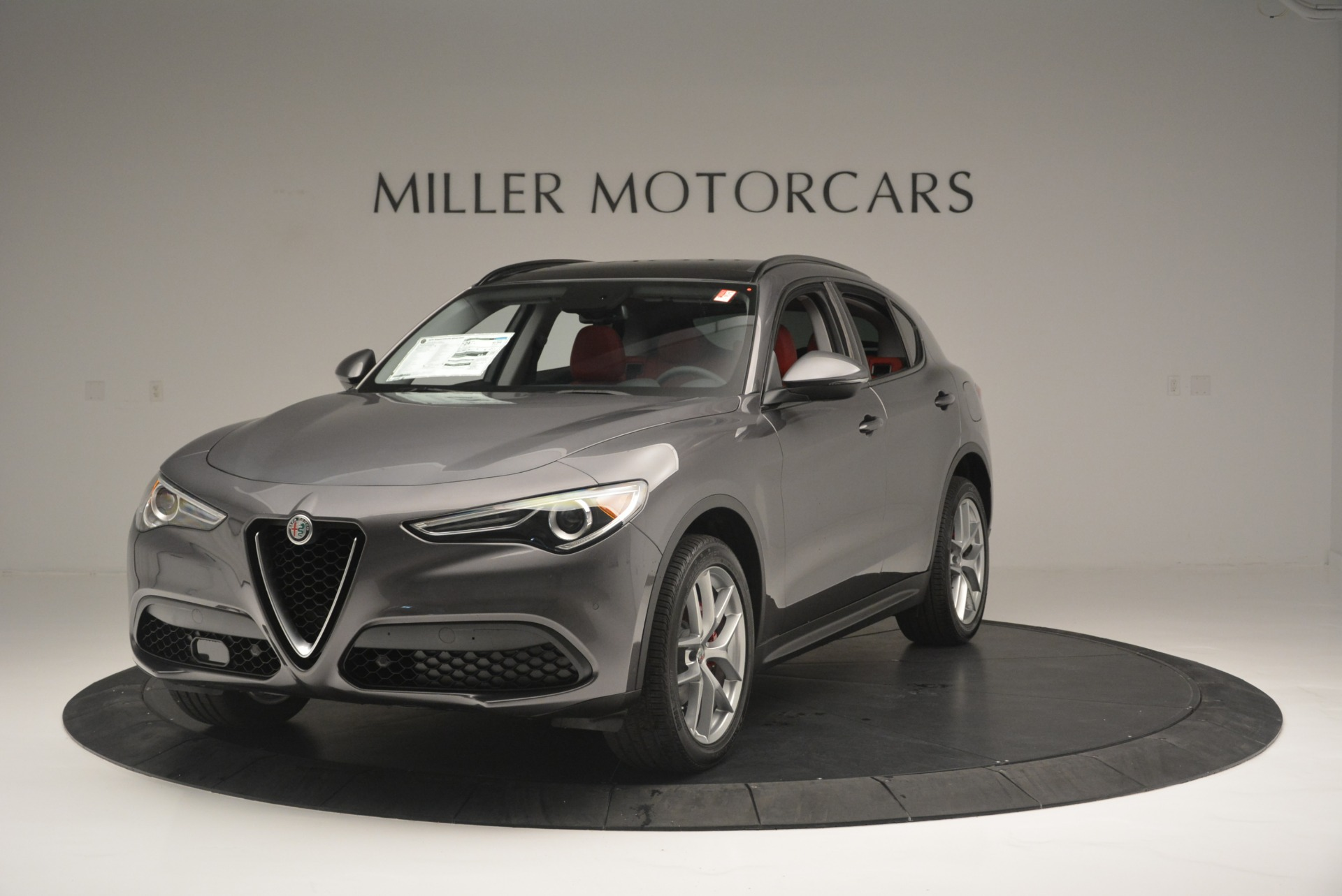 New 2018 Alfa Romeo Stelvio Ti Sport Q4 For Sale In Greenwich, CT 2324_main