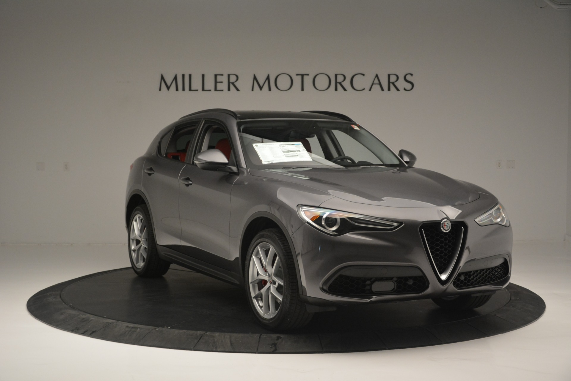 New 2018 Alfa Romeo Stelvio Ti Sport Q4 For Sale In Greenwich, CT 2324_p11
