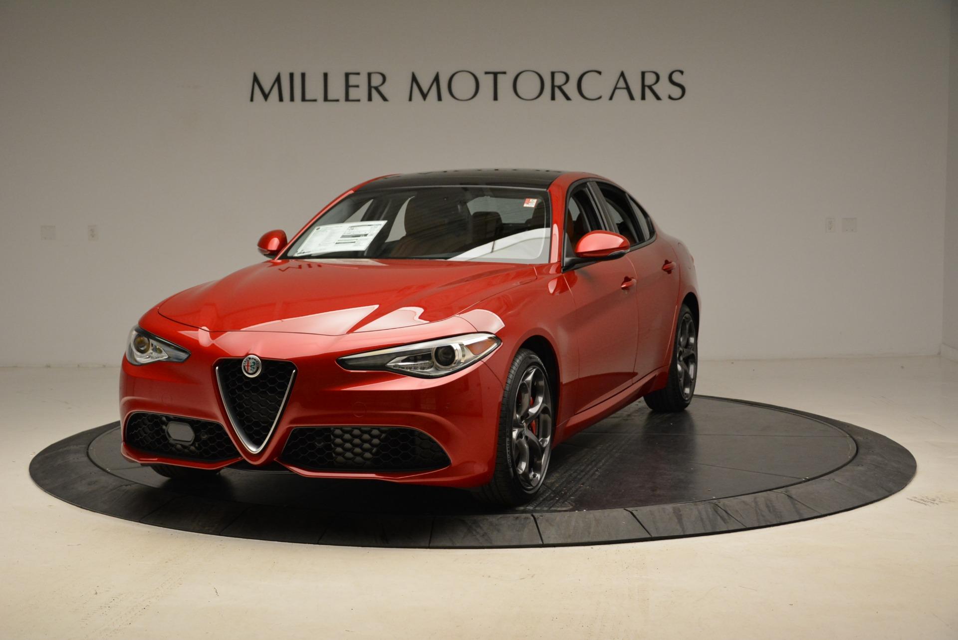 New 2018 Alfa Romeo Giulia Ti Sport Q4 For Sale In Greenwich, CT 2328_main