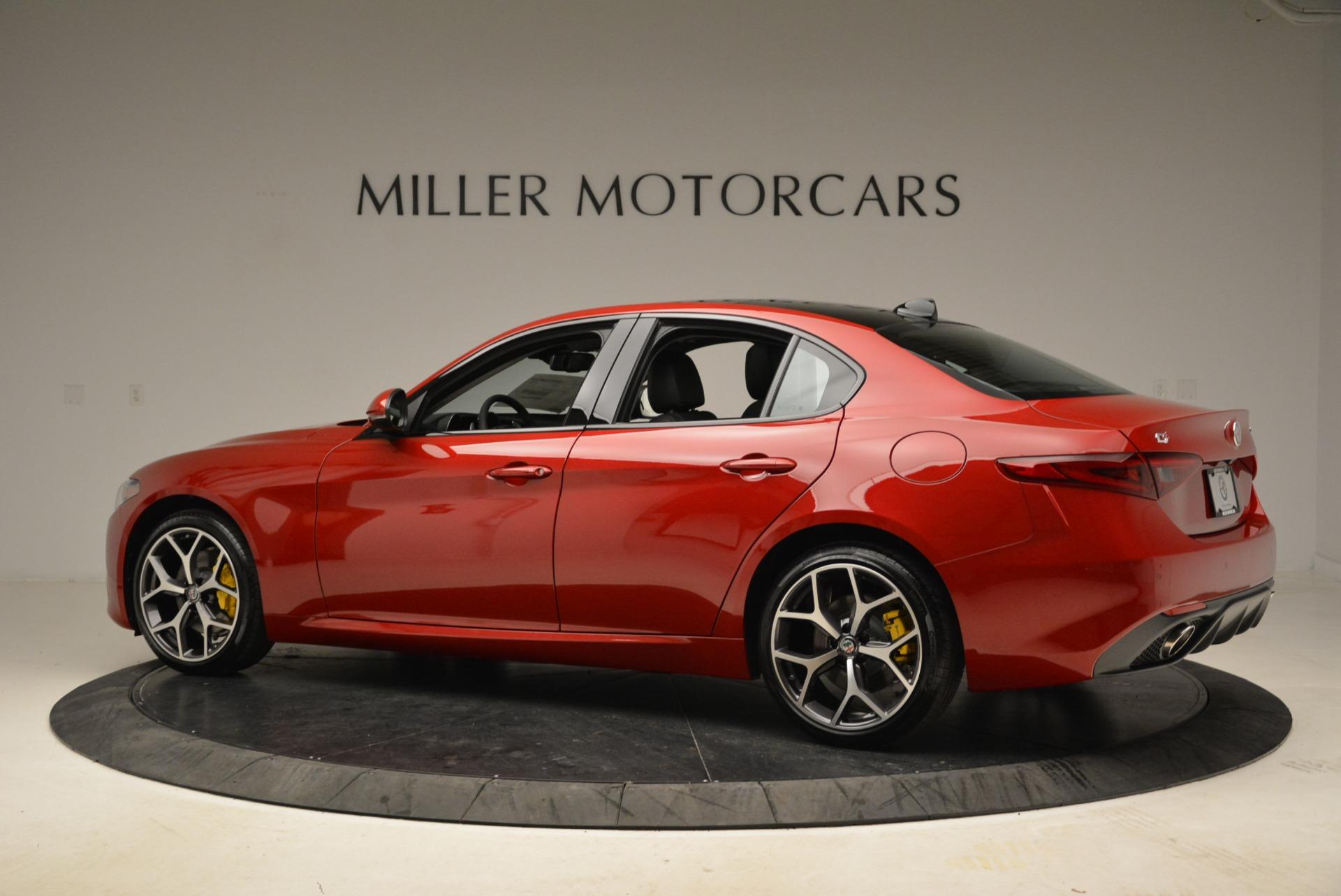 New 2018 Alfa Romeo Giulia Ti Sport Q4 For Sale In Greenwich, CT 2346_p4