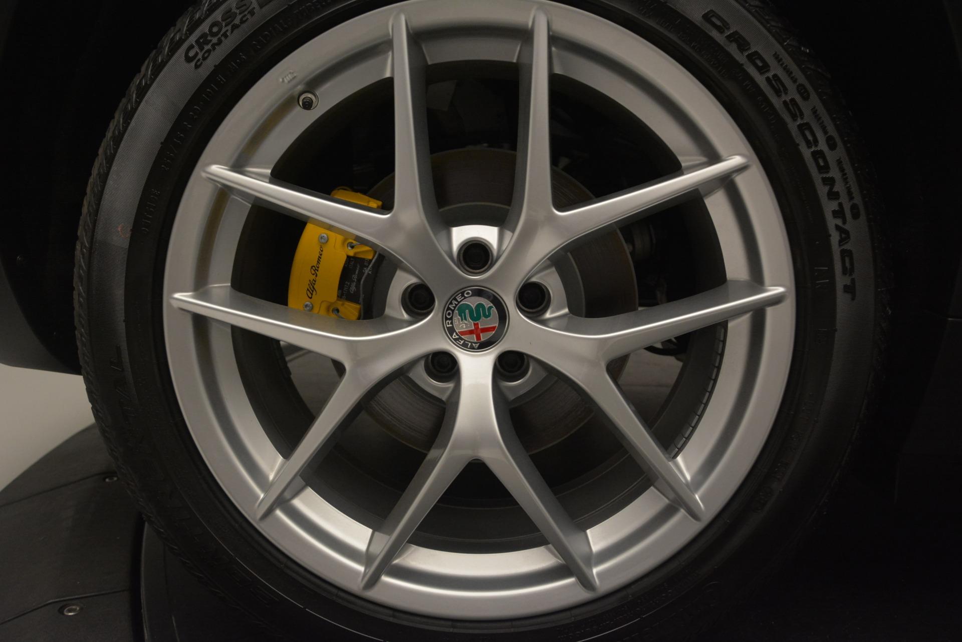New 2018 Alfa Romeo Stelvio Ti Sport Q4 For Sale In Greenwich, CT 2352_p25