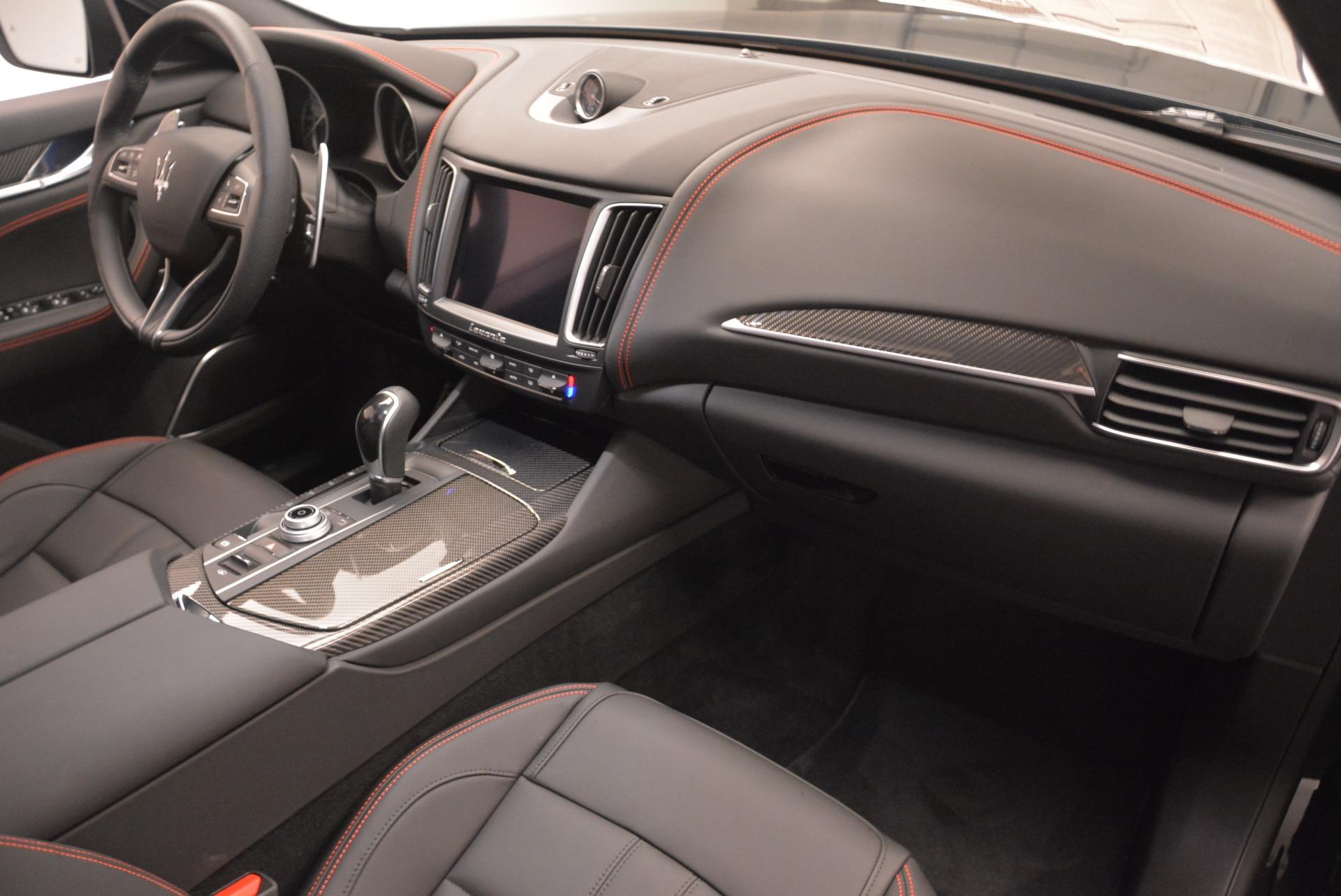 New 2018 Maserati Levante S Q4 GranSport Nerissimo For Sale In Greenwich, CT 2363_p19
