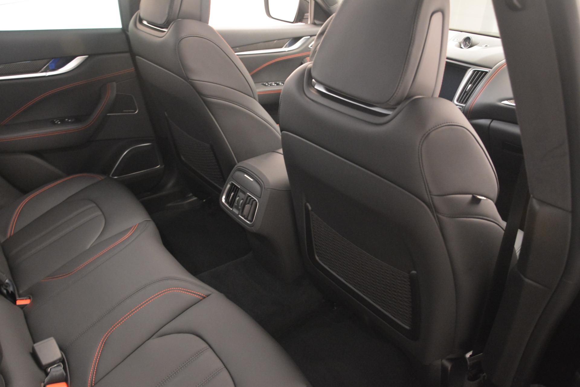 New 2018 Maserati Levante S Q4 GranSport Nerissimo For Sale In Greenwich, CT 2363_p22