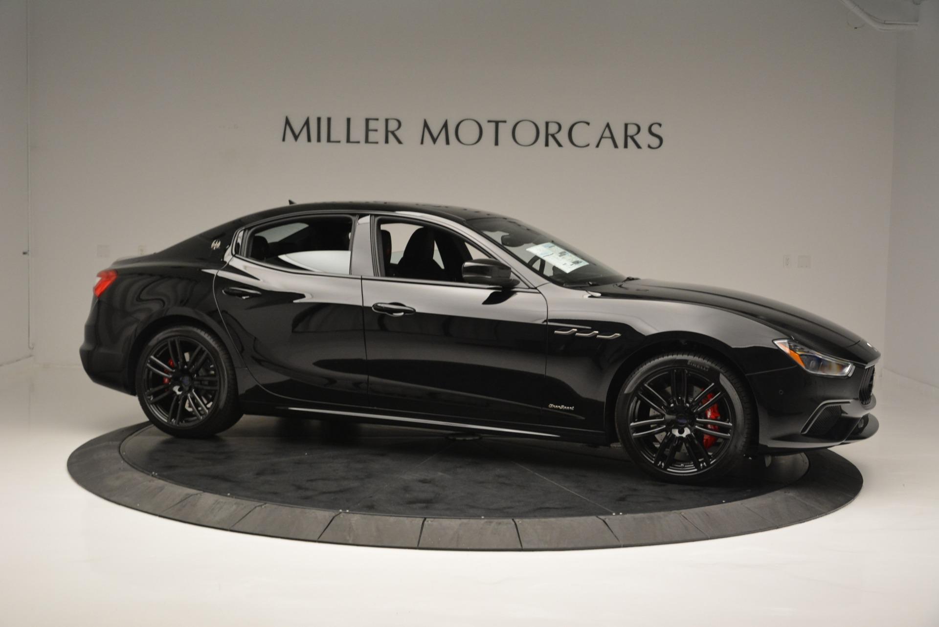New 2018 Maserati Ghibli SQ4 GranSport Nerissimo For Sale In Greenwich, CT 2366_p10