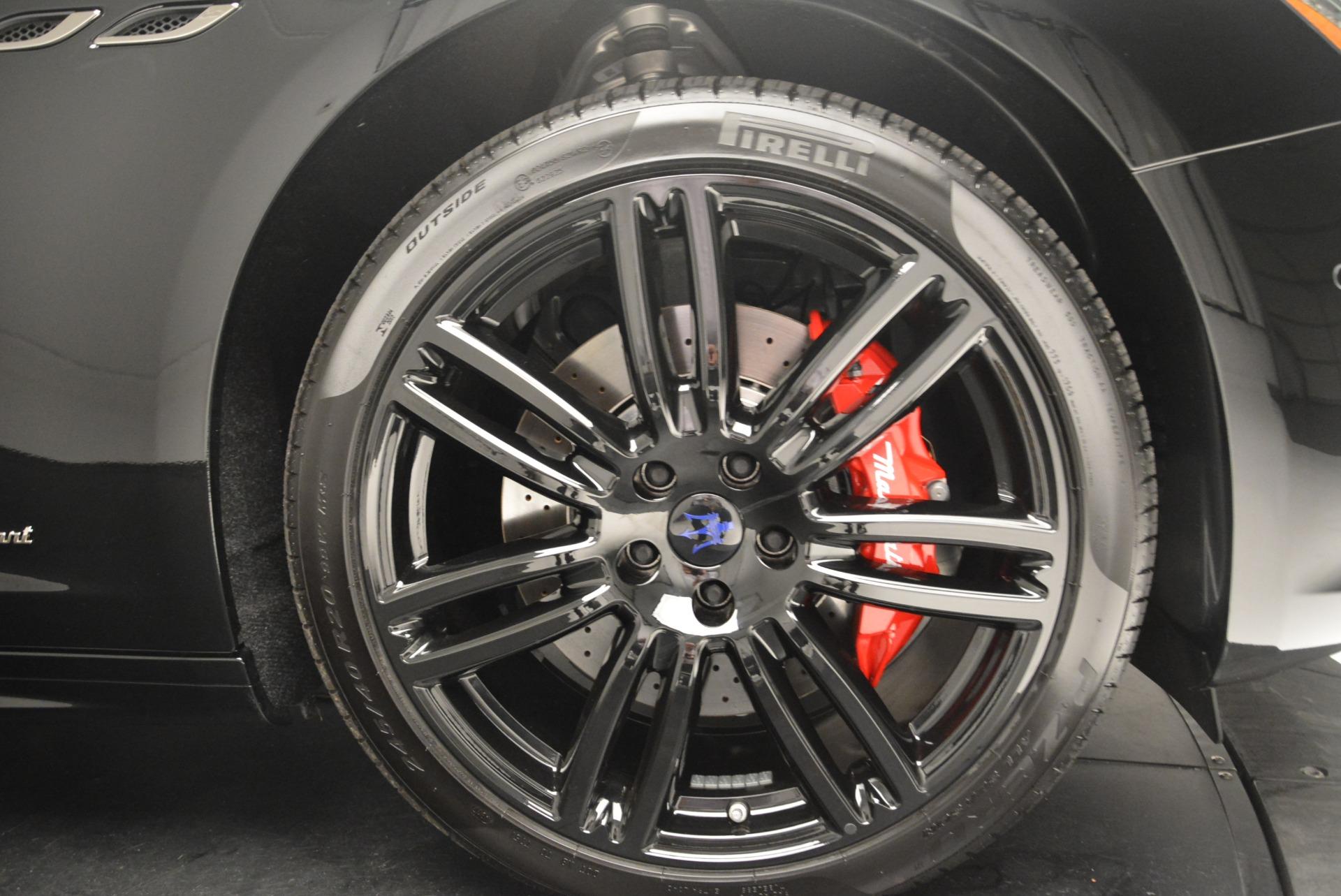 New 2018 Maserati Ghibli SQ4 GranSport Nerissimo For Sale In Greenwich, CT 2366_p25
