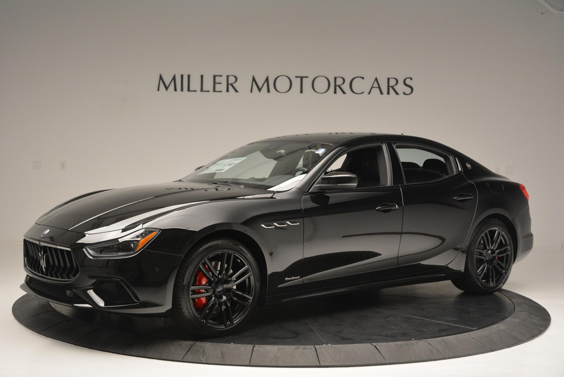 New 2018 Maserati Ghibli SQ4 GranSport Nerissimo For Sale In Greenwich, CT 2366_p2
