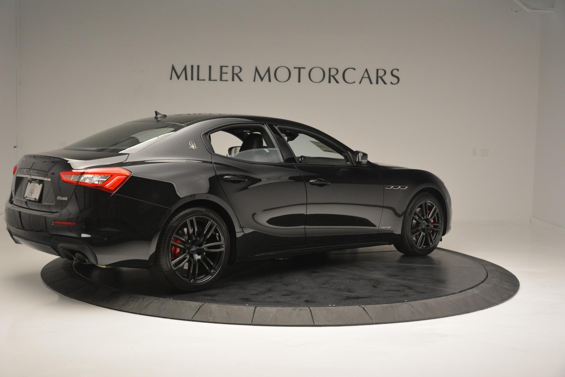 New 2018 Maserati Ghibli SQ4 GranSport Nerissimo For Sale In Greenwich, CT 2366_p8