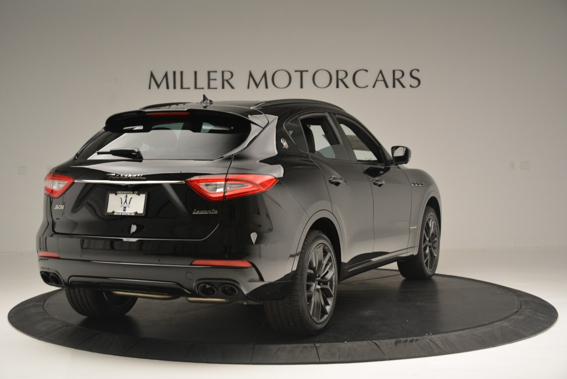 New 2018 Maserati Levante S Q4 GranSport Nerissimo For Sale In Greenwich, CT 2370_p7