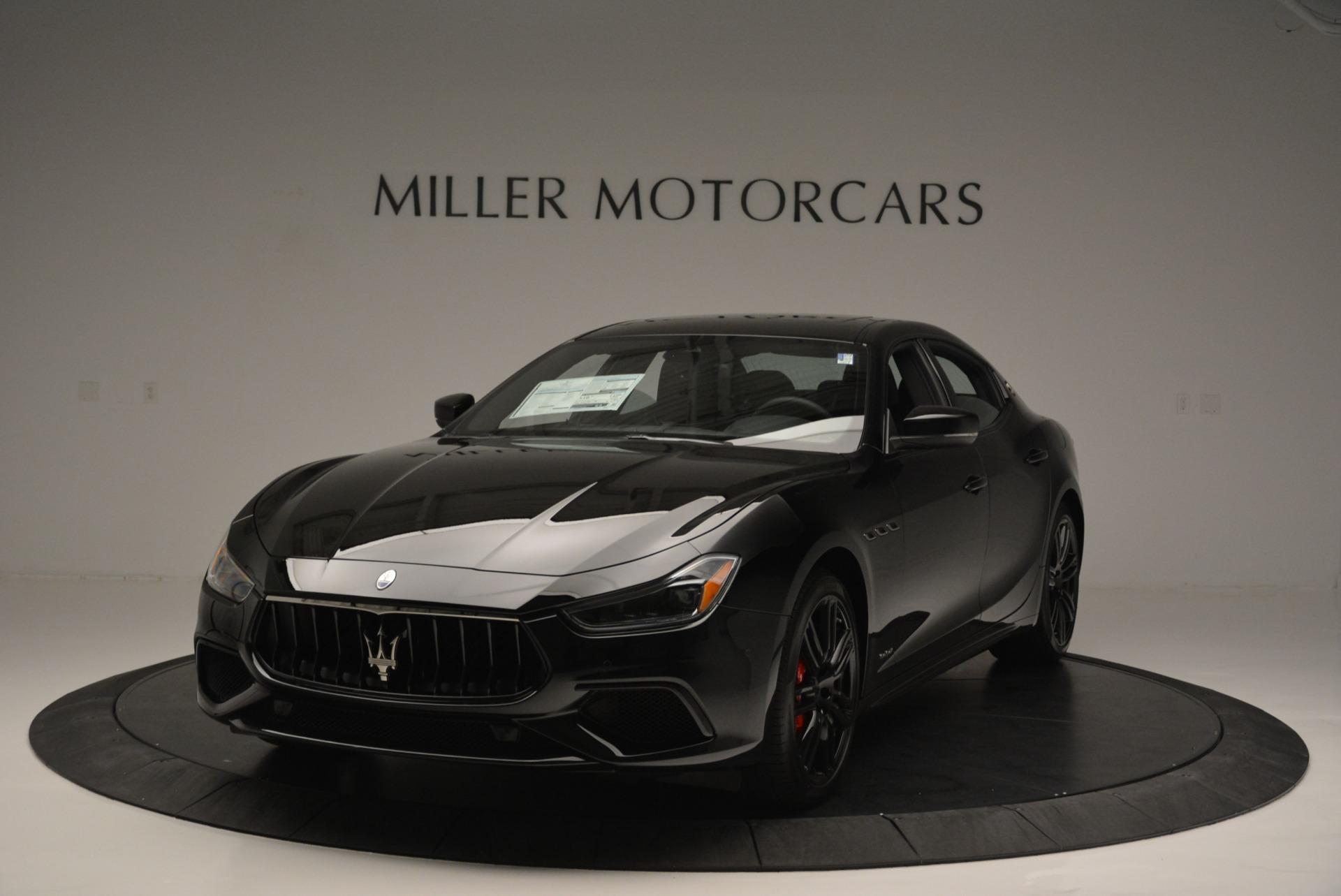 New 2018 Maserati Ghibli SQ4 GranSport Nerissimo For Sale In Greenwich, CT 2372_main