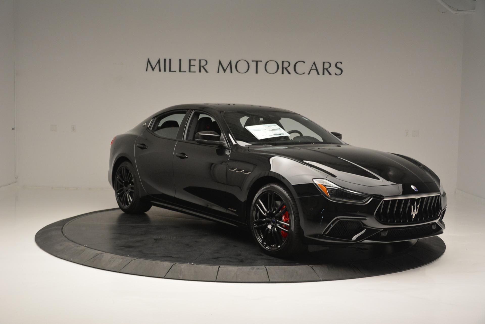 New 2018 Maserati Ghibli SQ4 GranSport Nerissimo For Sale In Greenwich, CT 2372_p11