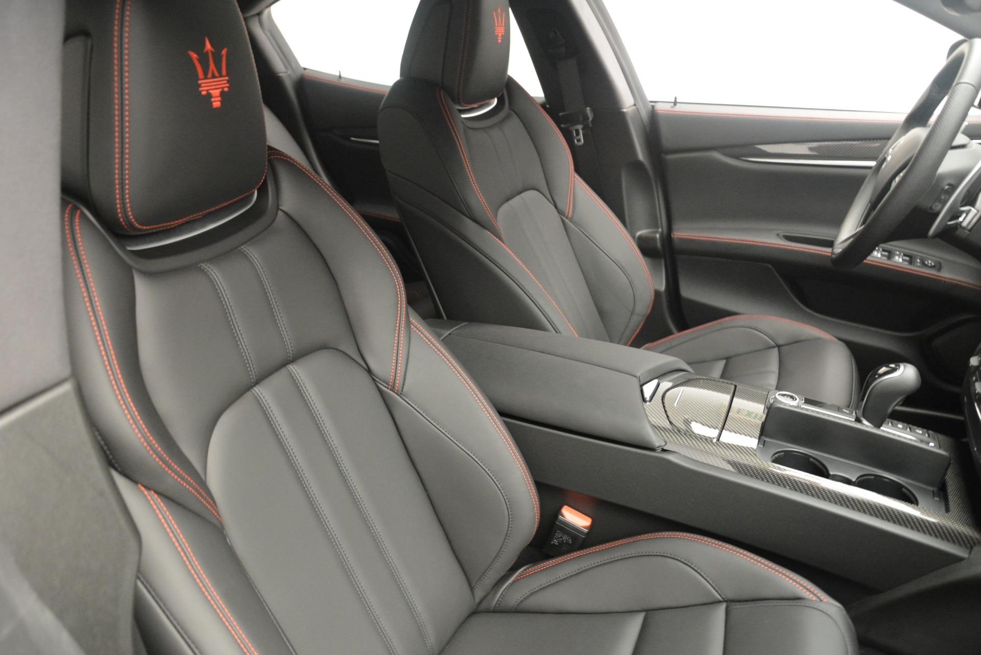 New 2018 Maserati Ghibli SQ4 GranSport Nerissimo For Sale In Greenwich, CT 2372_p22