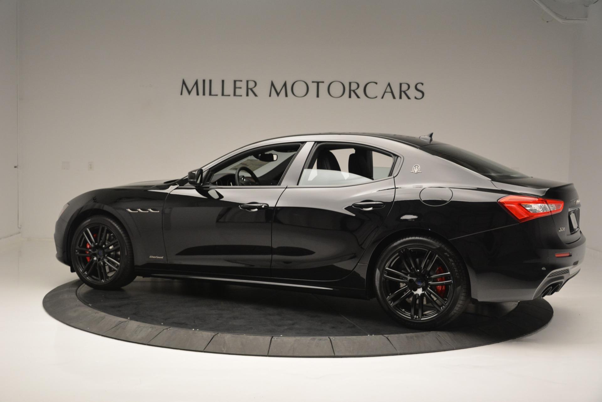 New 2018 Maserati Ghibli SQ4 GranSport Nerissimo For Sale In Greenwich, CT 2372_p4