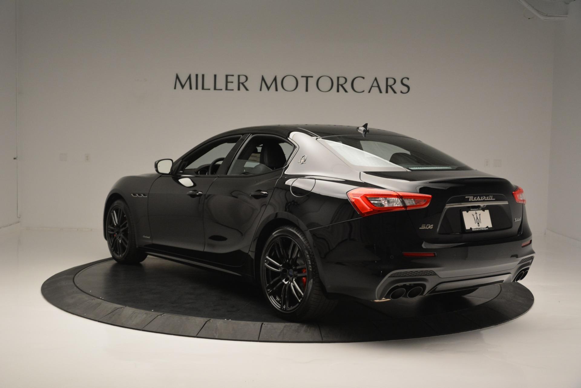 New 2018 Maserati Ghibli SQ4 GranSport Nerissimo For Sale In Greenwich, CT 2372_p5