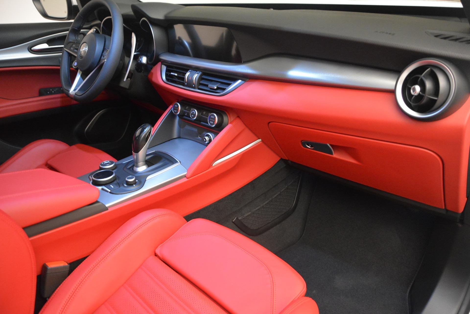 New 2018 Alfa Romeo Stelvio Ti Sport Q4 For Sale In Greenwich, CT 2381_p16
