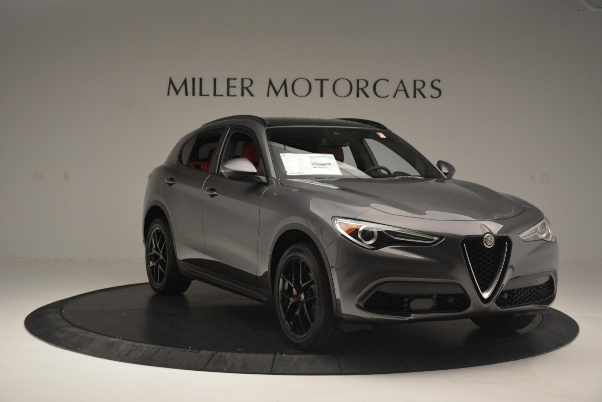 New 2018 Alfa Romeo Stelvio Ti Sport Q4 For Sale In Greenwich, CT 2393_p11
