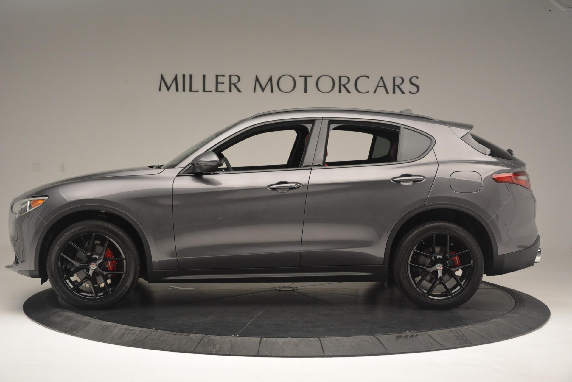 New 2018 Alfa Romeo Stelvio Ti Sport Q4 For Sale In Greenwich, CT 2393_p3