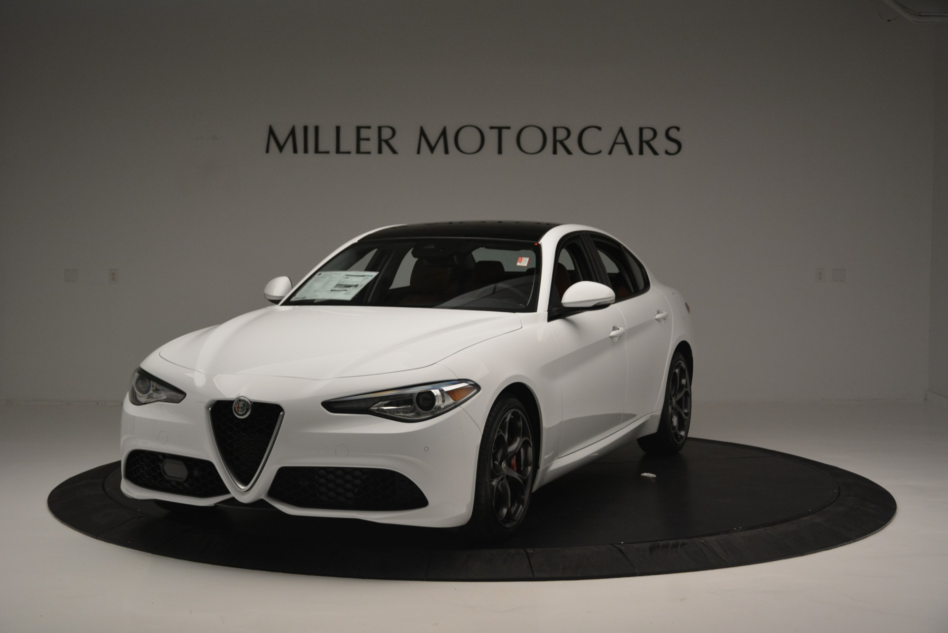 New 2018 Alfa Romeo Giulia Ti Sport Q4 For Sale In Greenwich, CT 2399_main