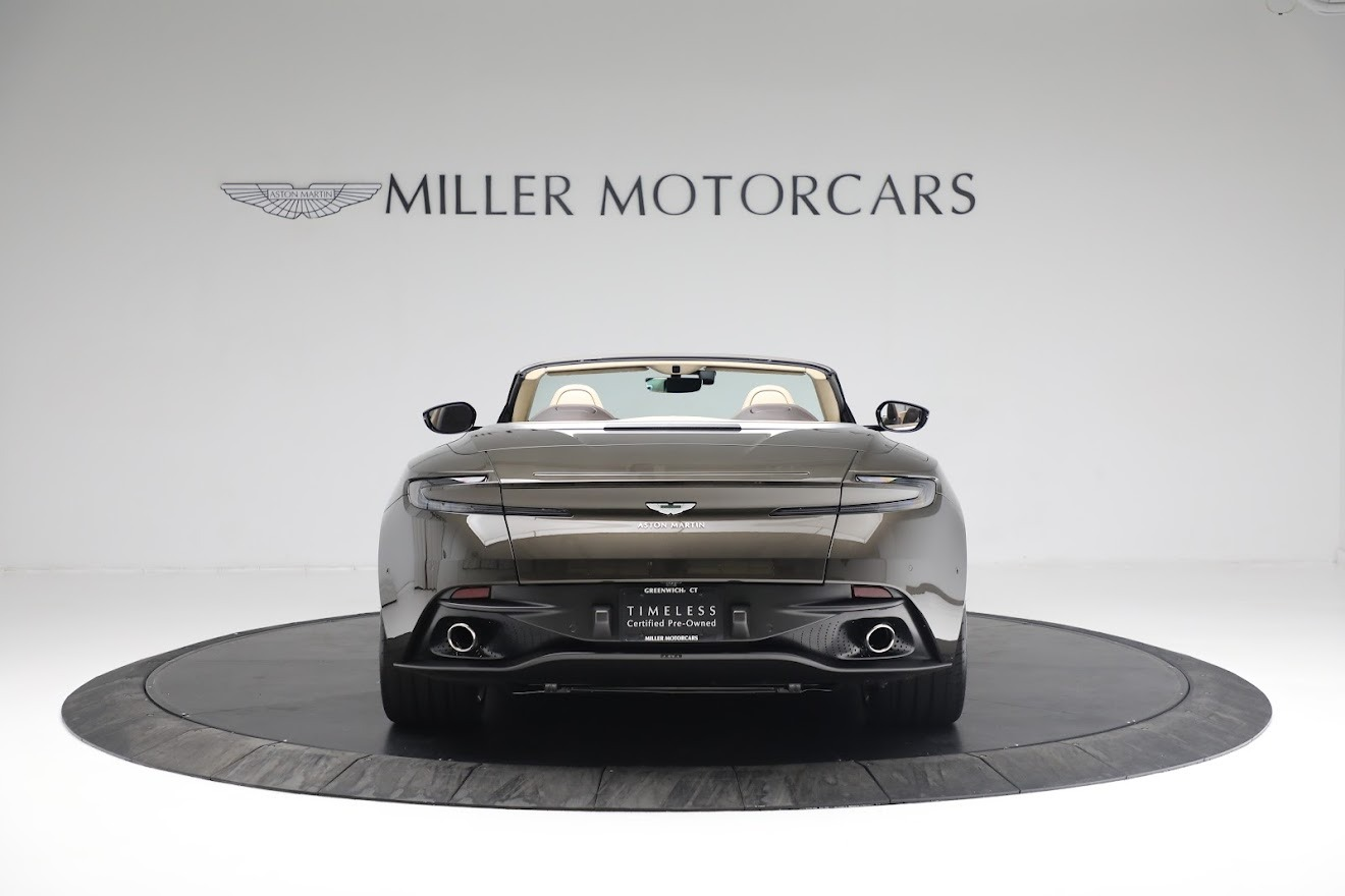 New 2019 Aston Martin DB11 V8 Convertible For Sale In Greenwich, CT 2410_p5