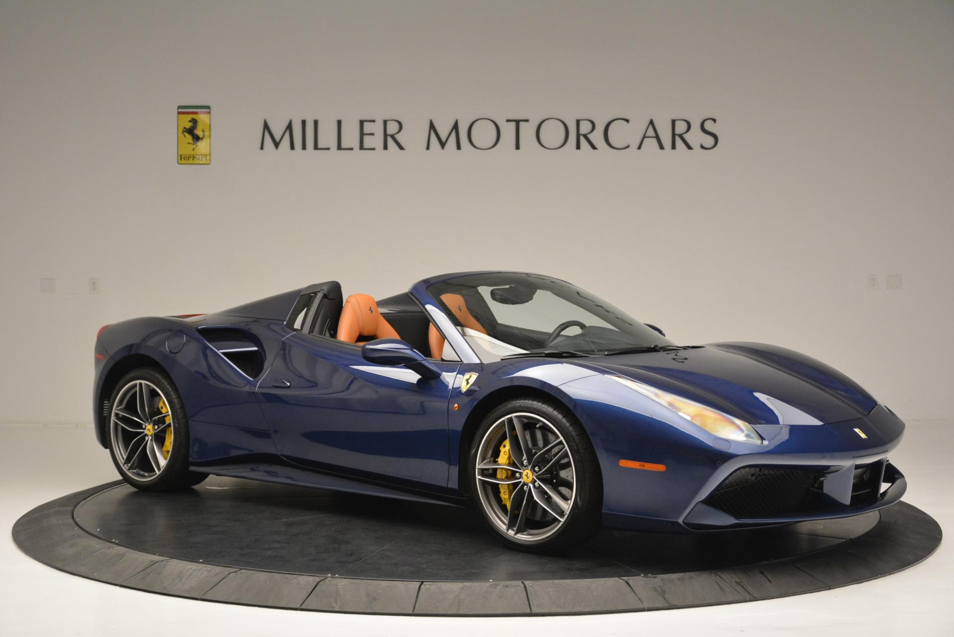 Used 2016 Ferrari 488 Spider  For Sale In Greenwich, CT 2411_p10