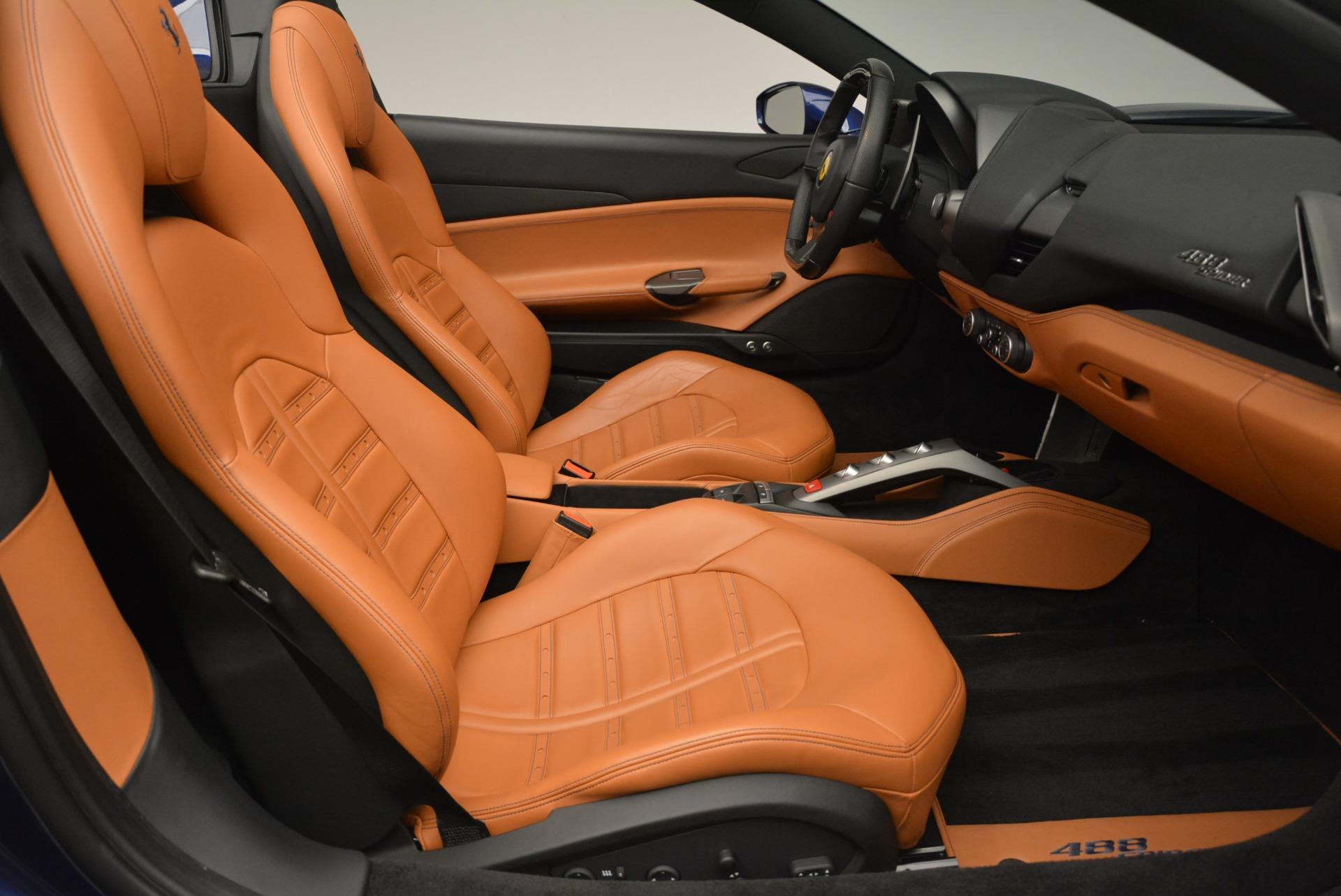 Used 2016 Ferrari 488 Spider  For Sale In Greenwich, CT 2411_p30