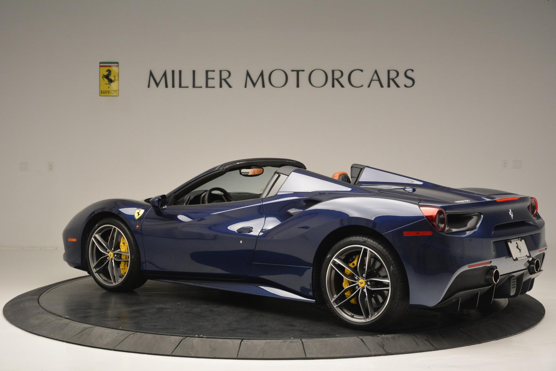 Used 2016 Ferrari 488 Spider  For Sale In Greenwich, CT 2411_p4