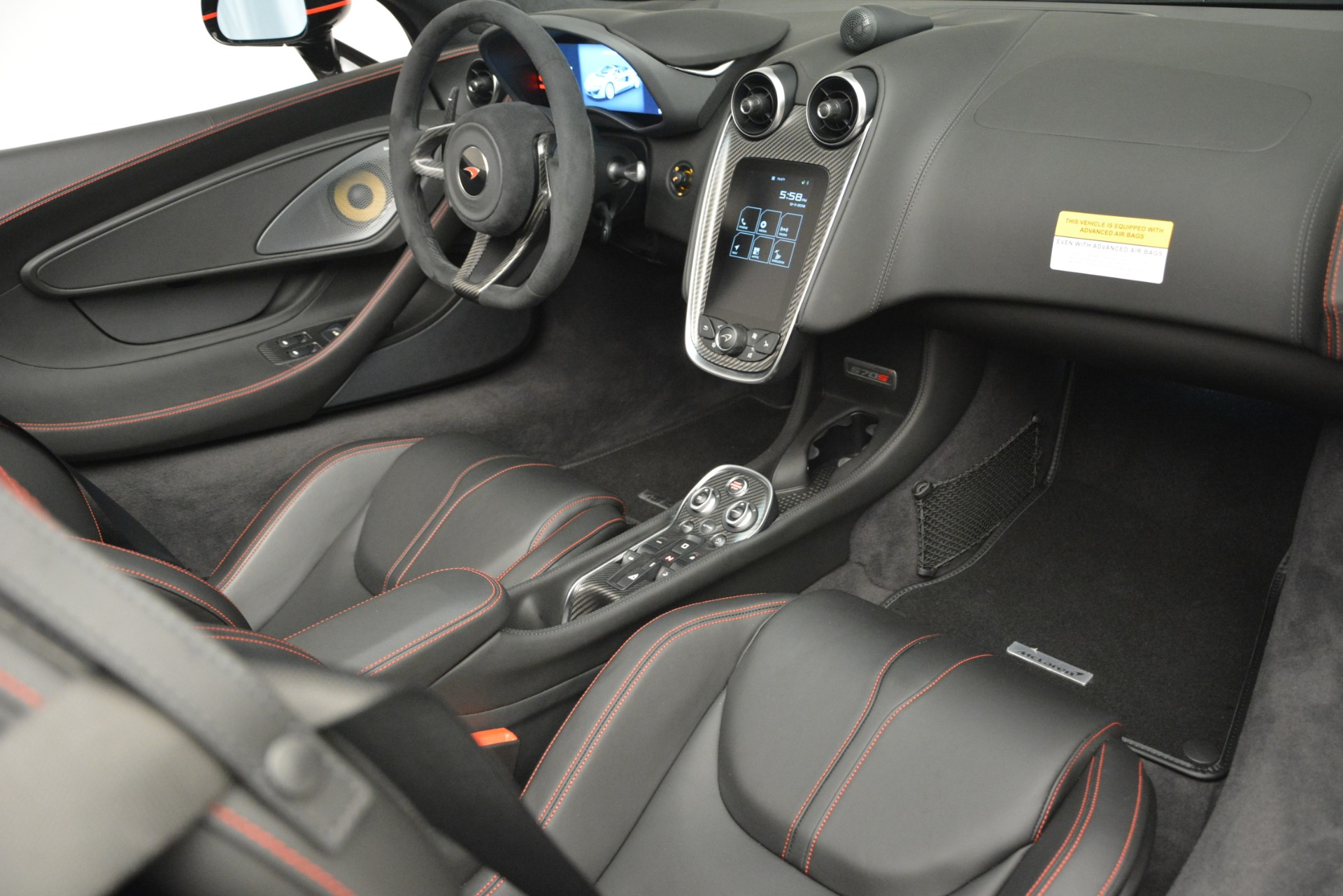 Used 2018 McLaren 570S Spider For Sale In Greenwich, CT 2420_p26