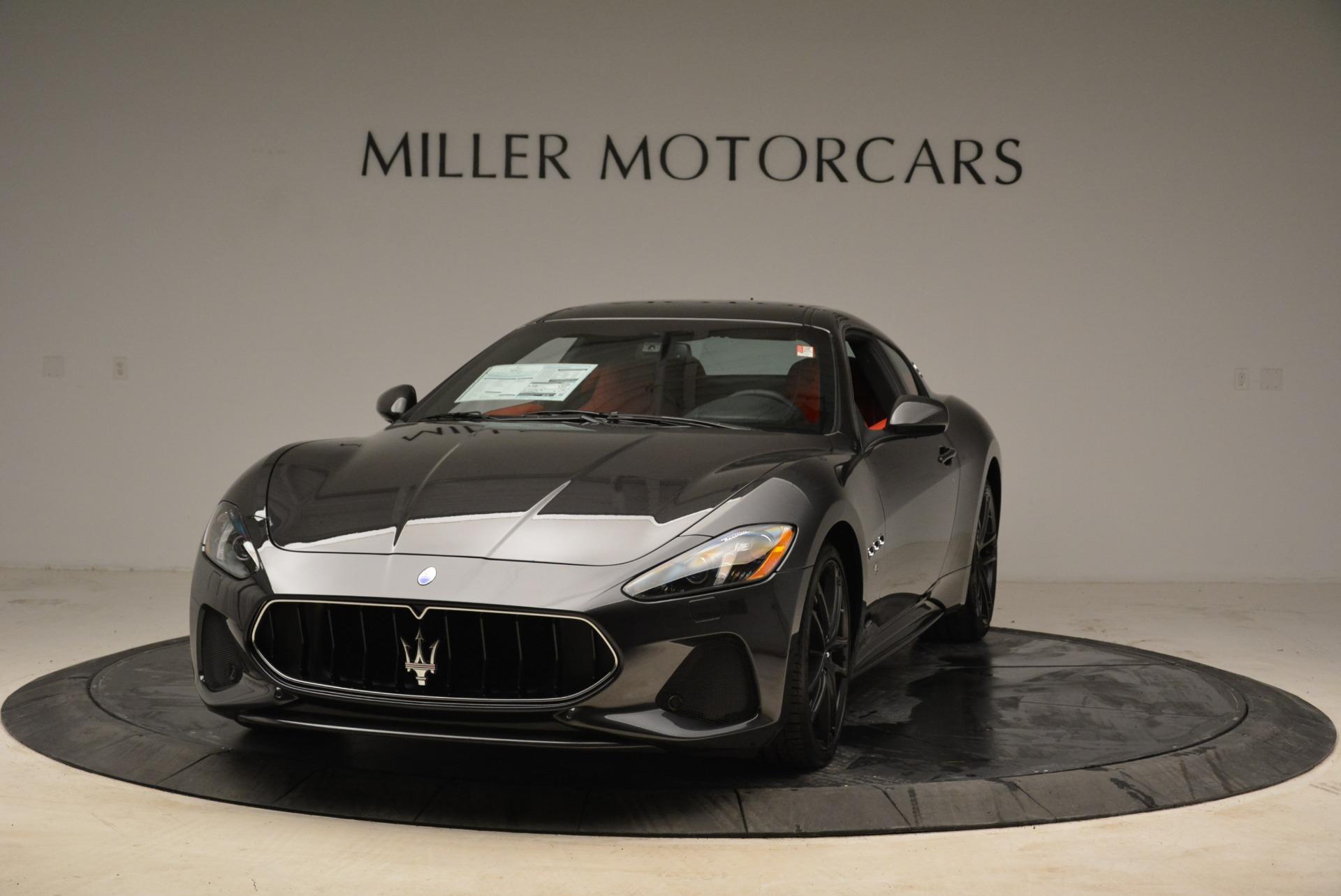 New 2018 Maserati GranTurismo Sport For Sale In Greenwich, CT 2426_main